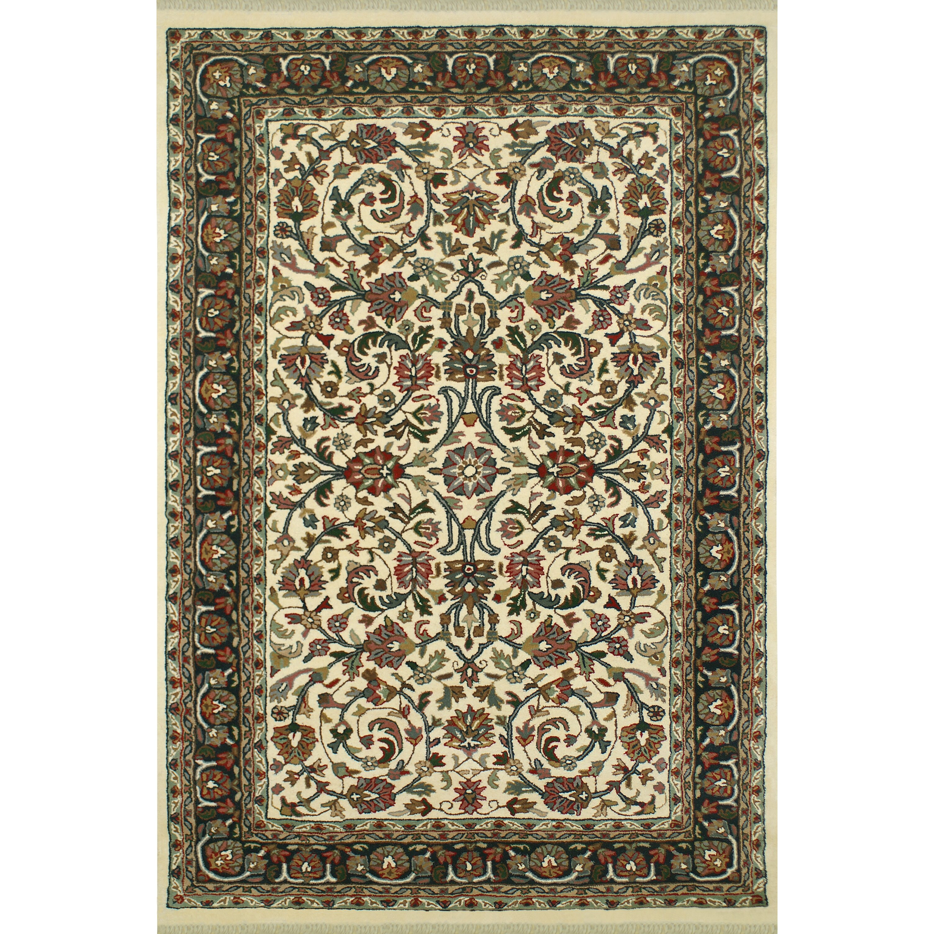 American home rug co american home classic kashan ivory for Classic american homes reviews