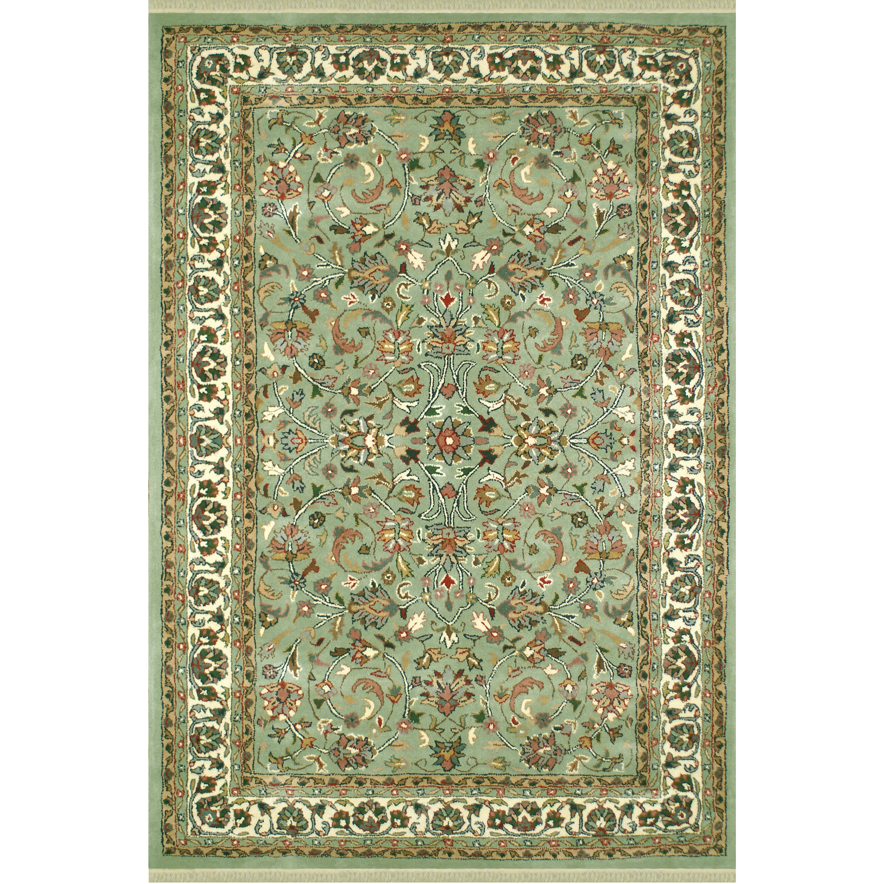American home rug co american home classic kashan light for Dining room rugs 9x12