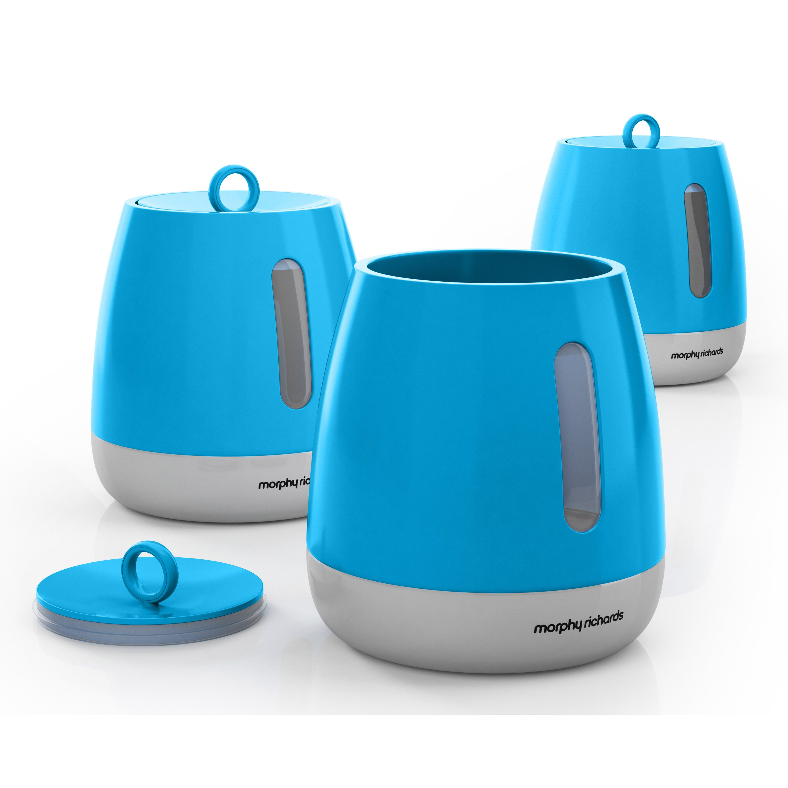 Morphy Richards Kitchen Set: Morphy Richards 3-Piece Storage Canisters Set