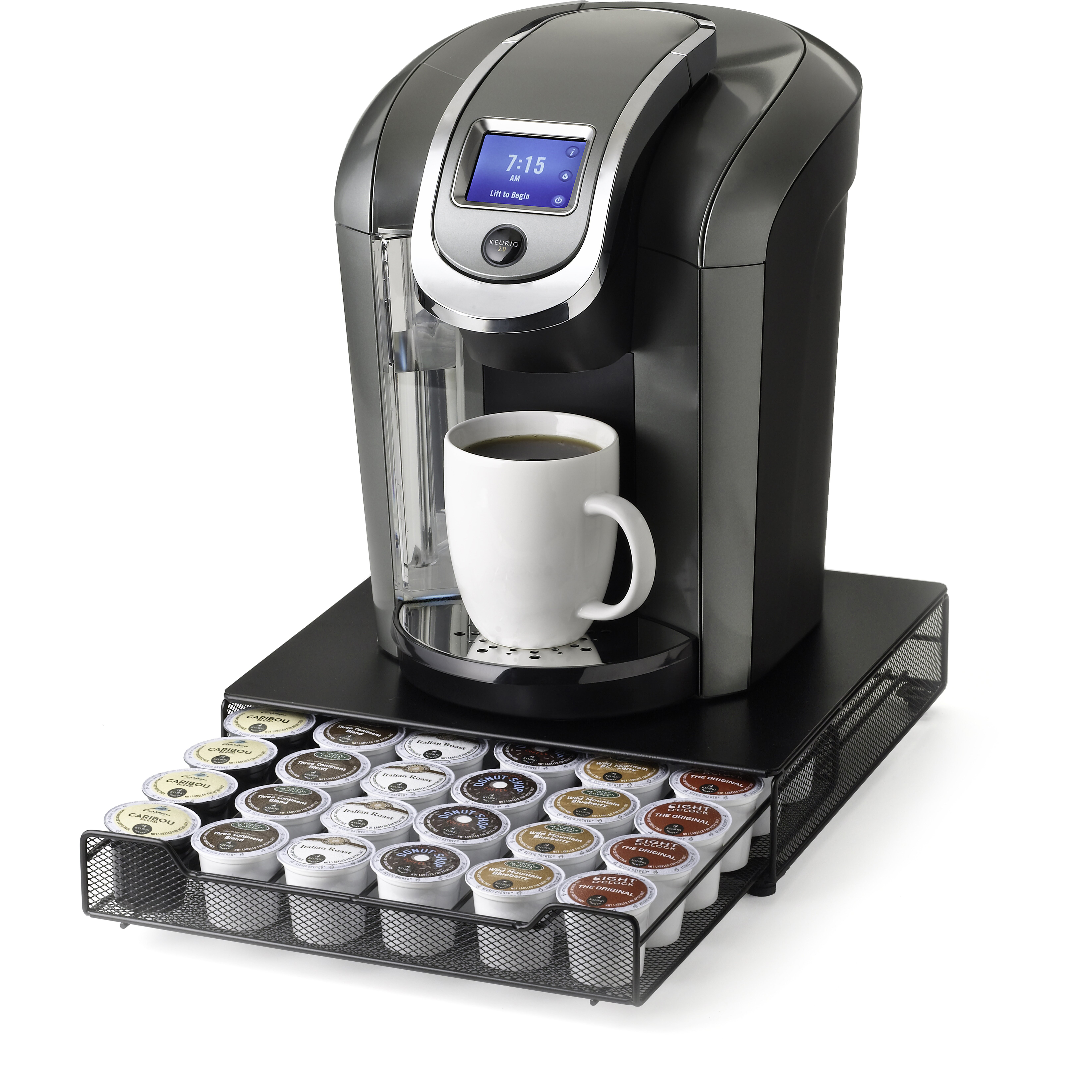 Nifty Home Products 36 Pod Keurig Brewed K Cup Rolling