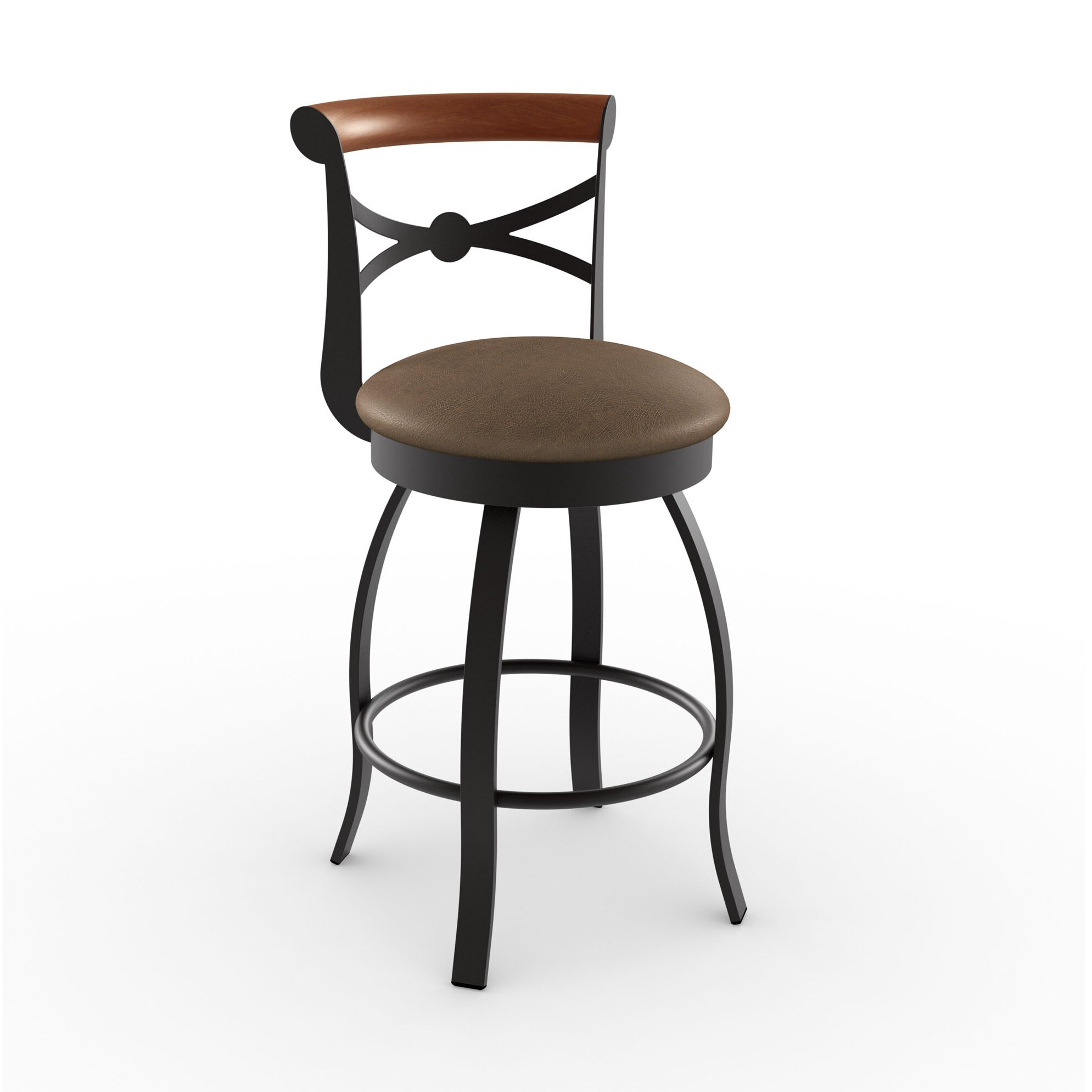 Amisco Library Luxe Style 2575quot Swivel Bar Stool  : Amisco Library Luxe Style 2575 Swivel Bar Stool from www.wayfair.ca size 1989 x 1989 jpeg 188kB