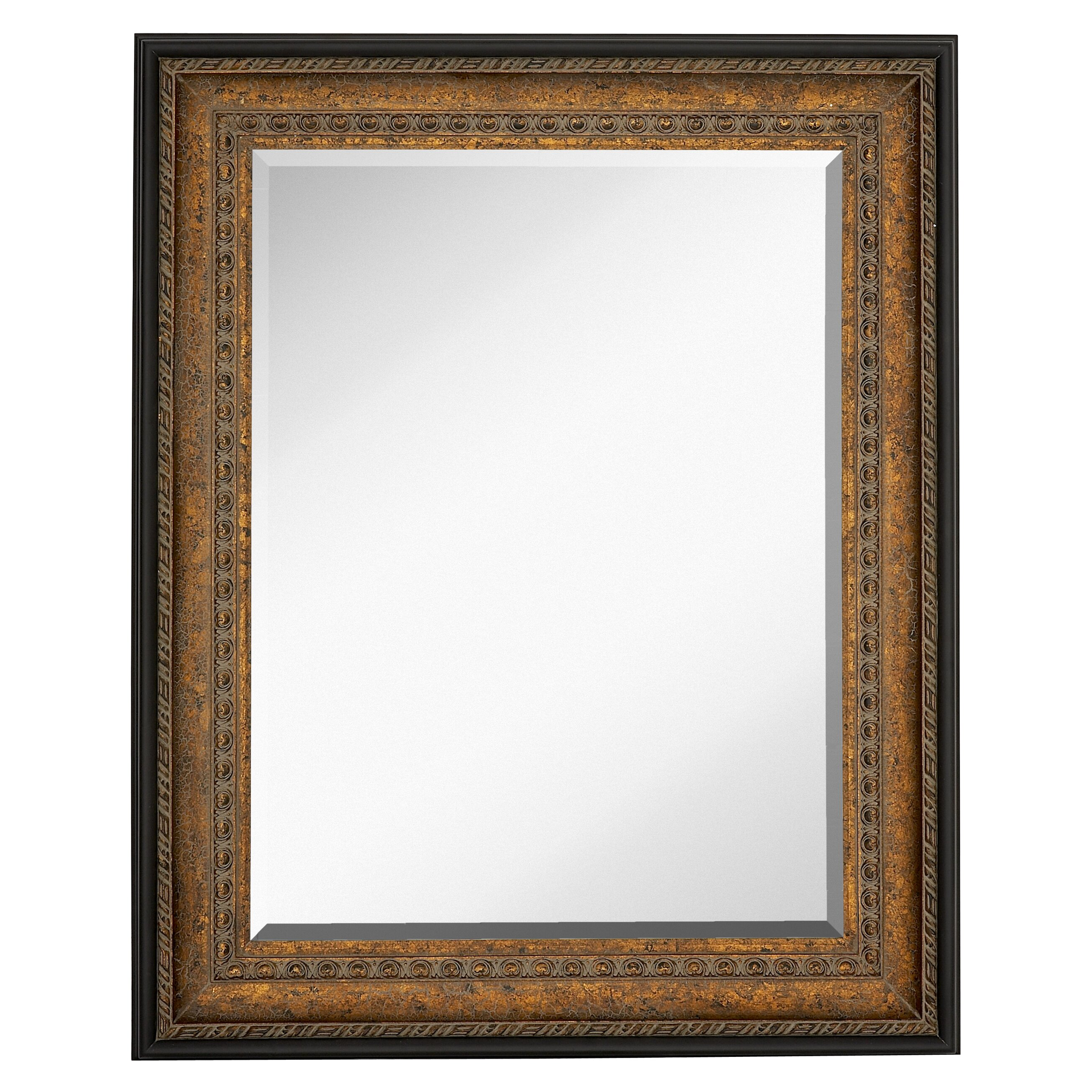 Majestic Mirror Large Rectangular Mirror with Antique ...