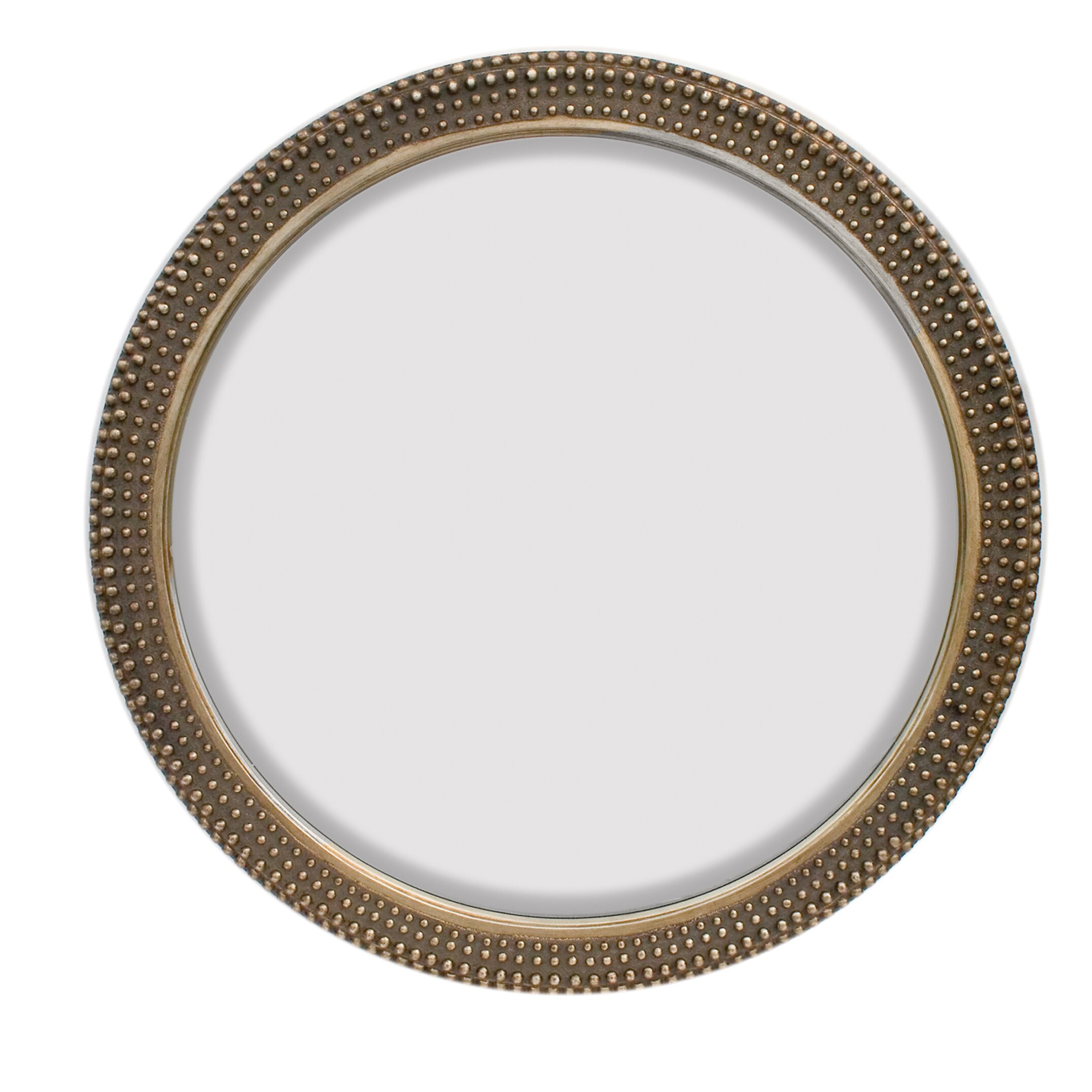 Majestic mirror large round traditional silver decorative Round decorative wall mirrors