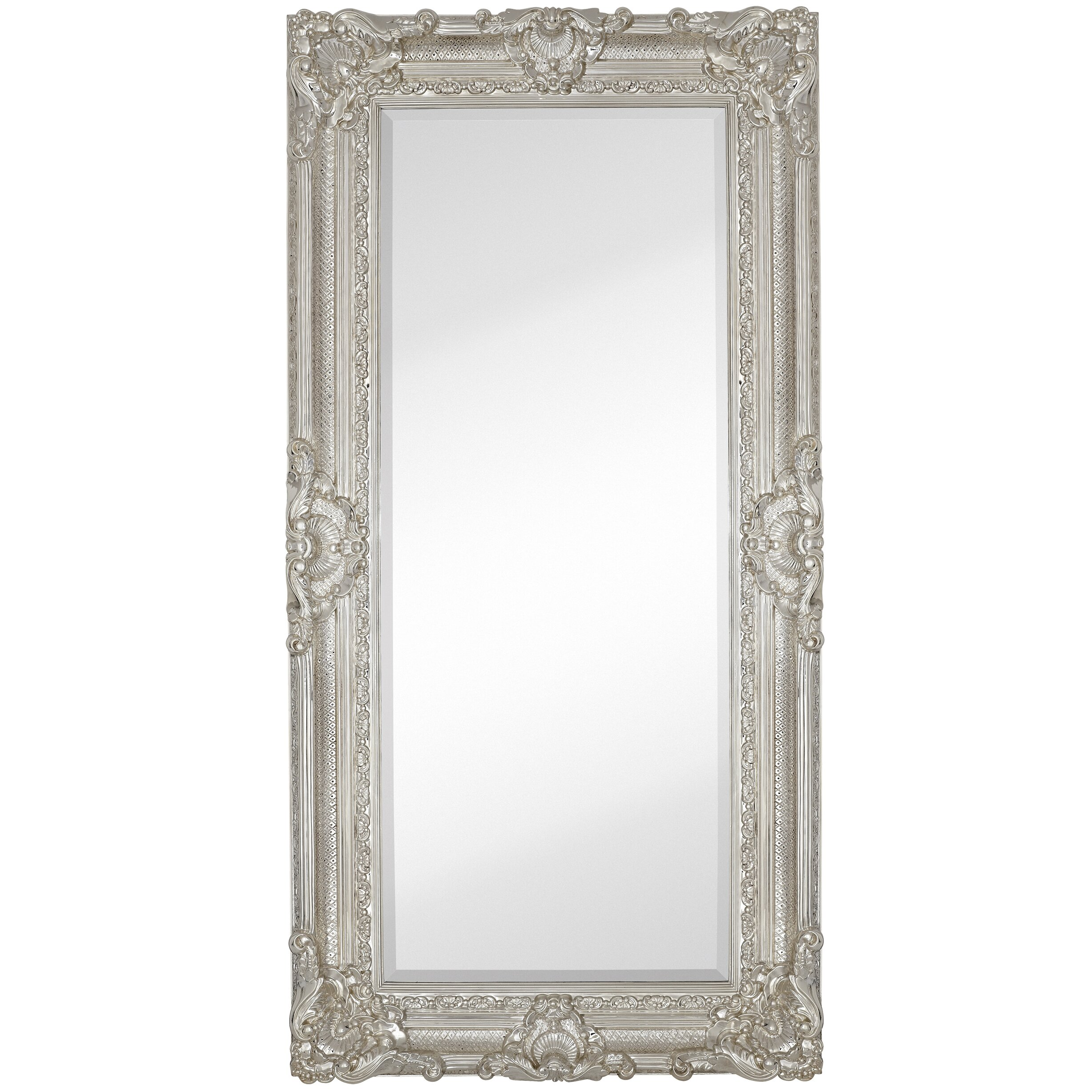 Majestic Mirror Large Traditional Polished Chrome