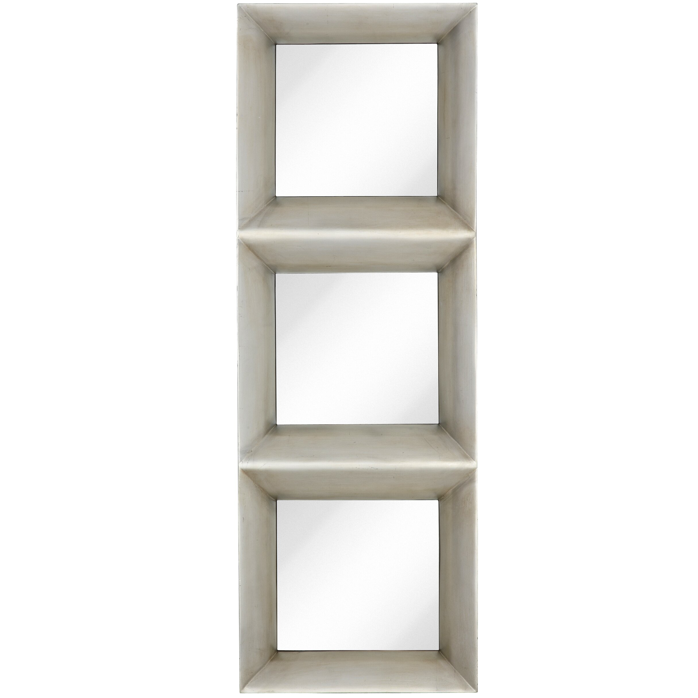 Majestic Mirror Contemporary Rectangular Framed Glass Wall ...