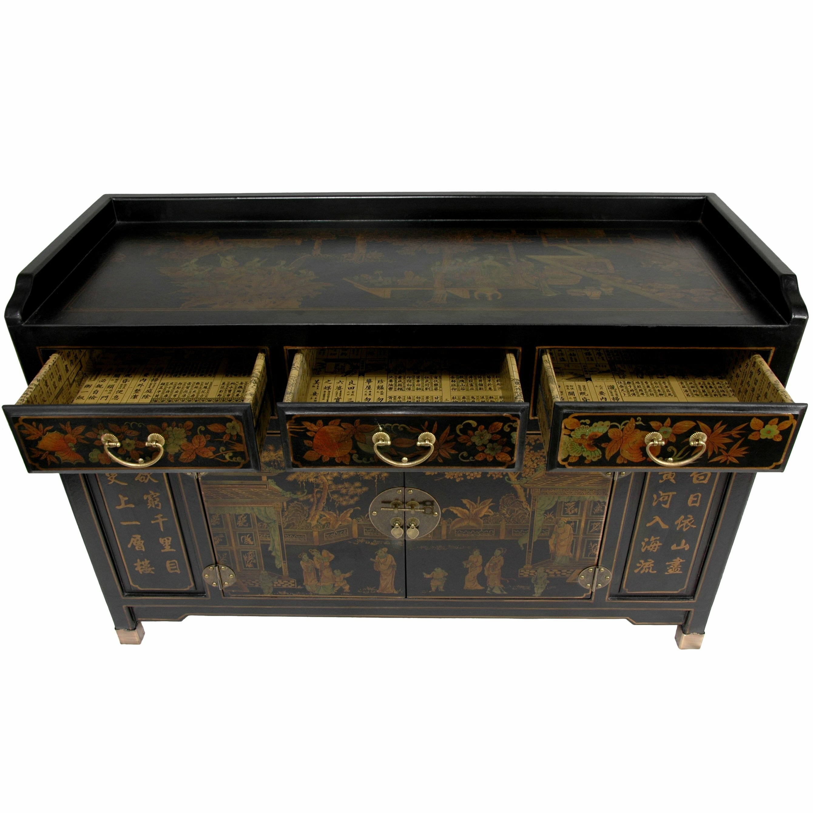 Oriental furniture buffet table reviews wayfair for I furniture reviews
