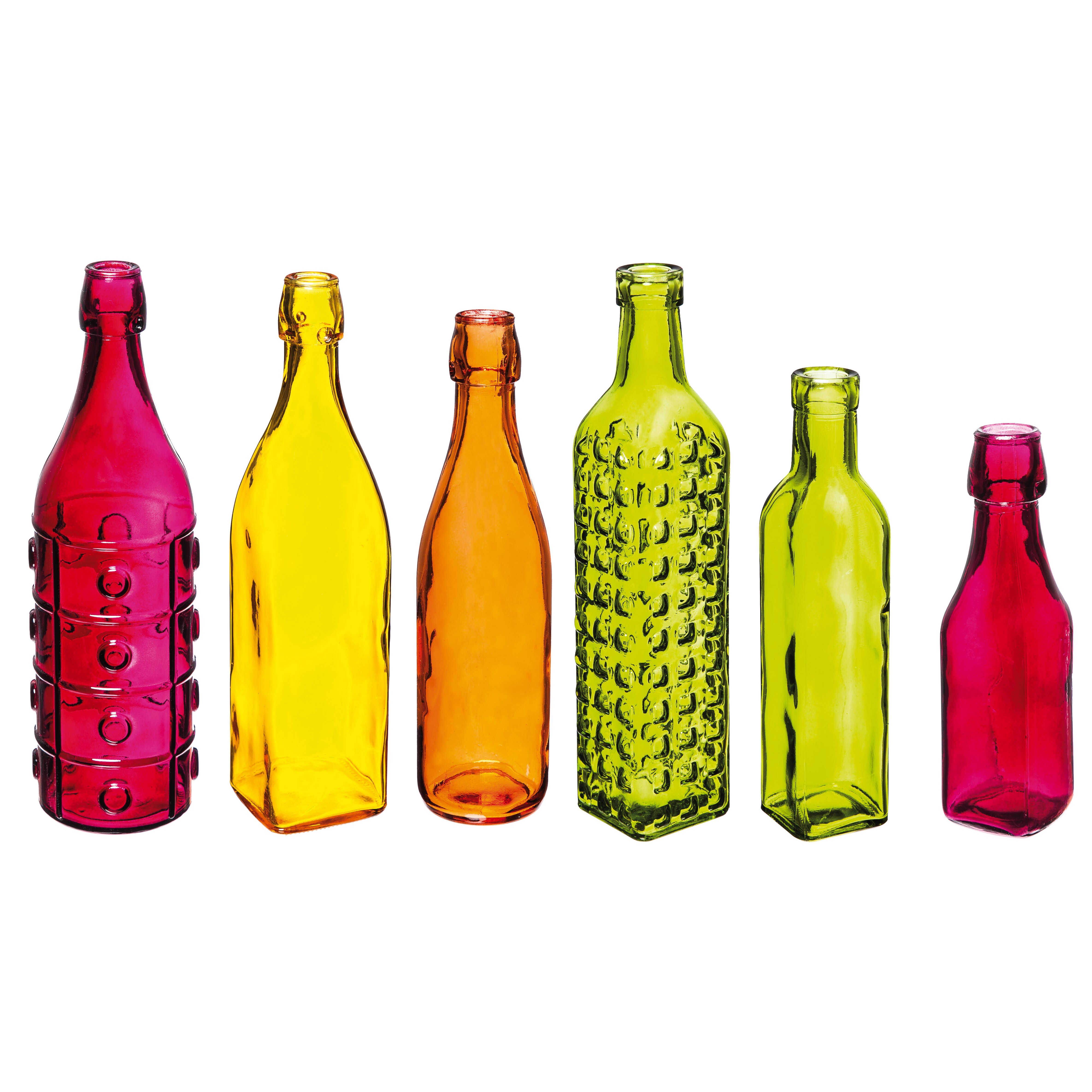 Evergreen enterprises inc decorate your garden set of 6 - How to decorate glass bottles ...