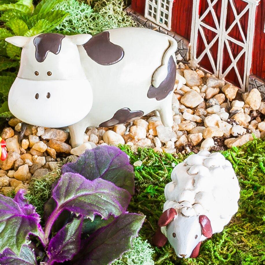 evergreen enterprises inc 2 piece farm animals mini