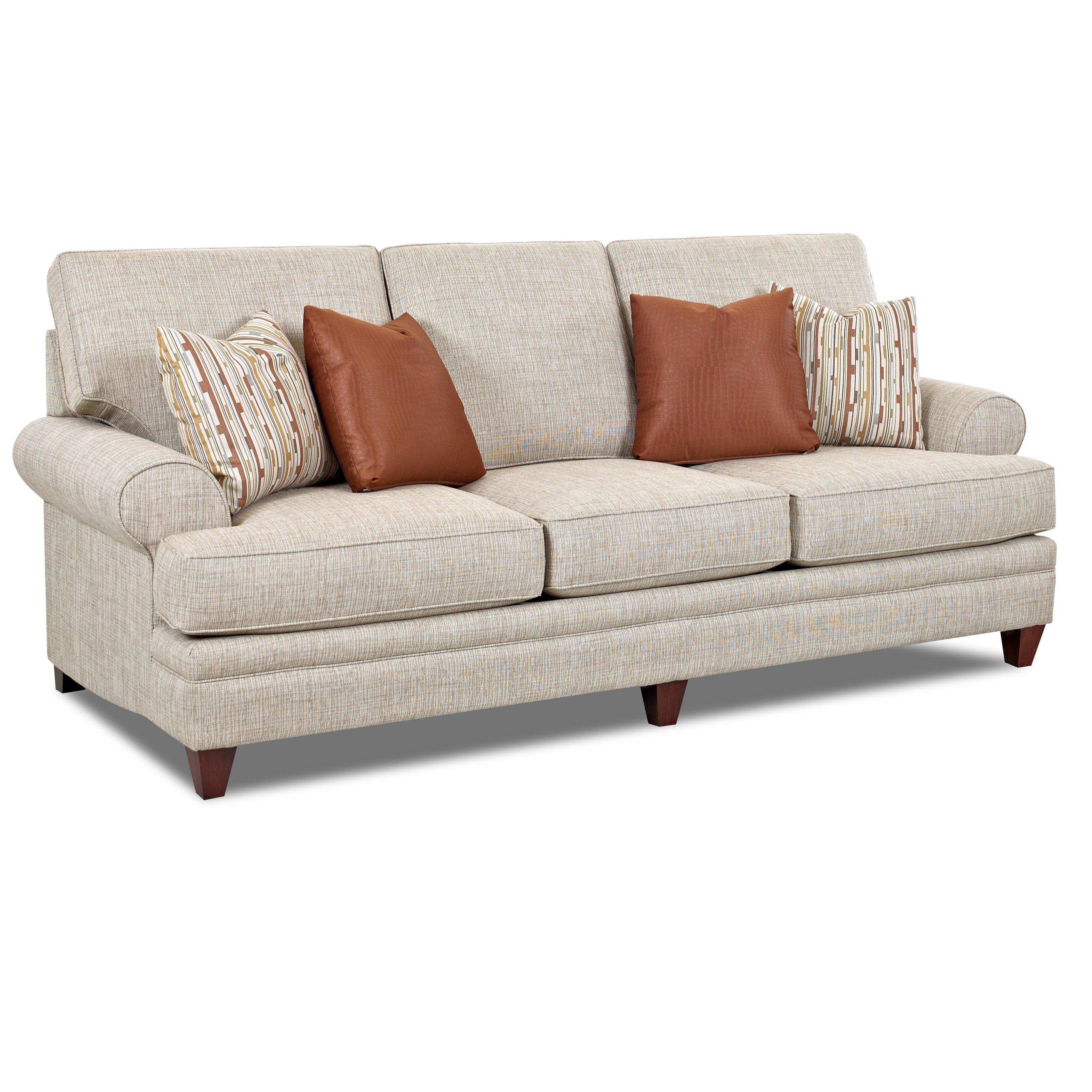 Klaussner furniture clayton sofa wayfair for Klaussner sofa