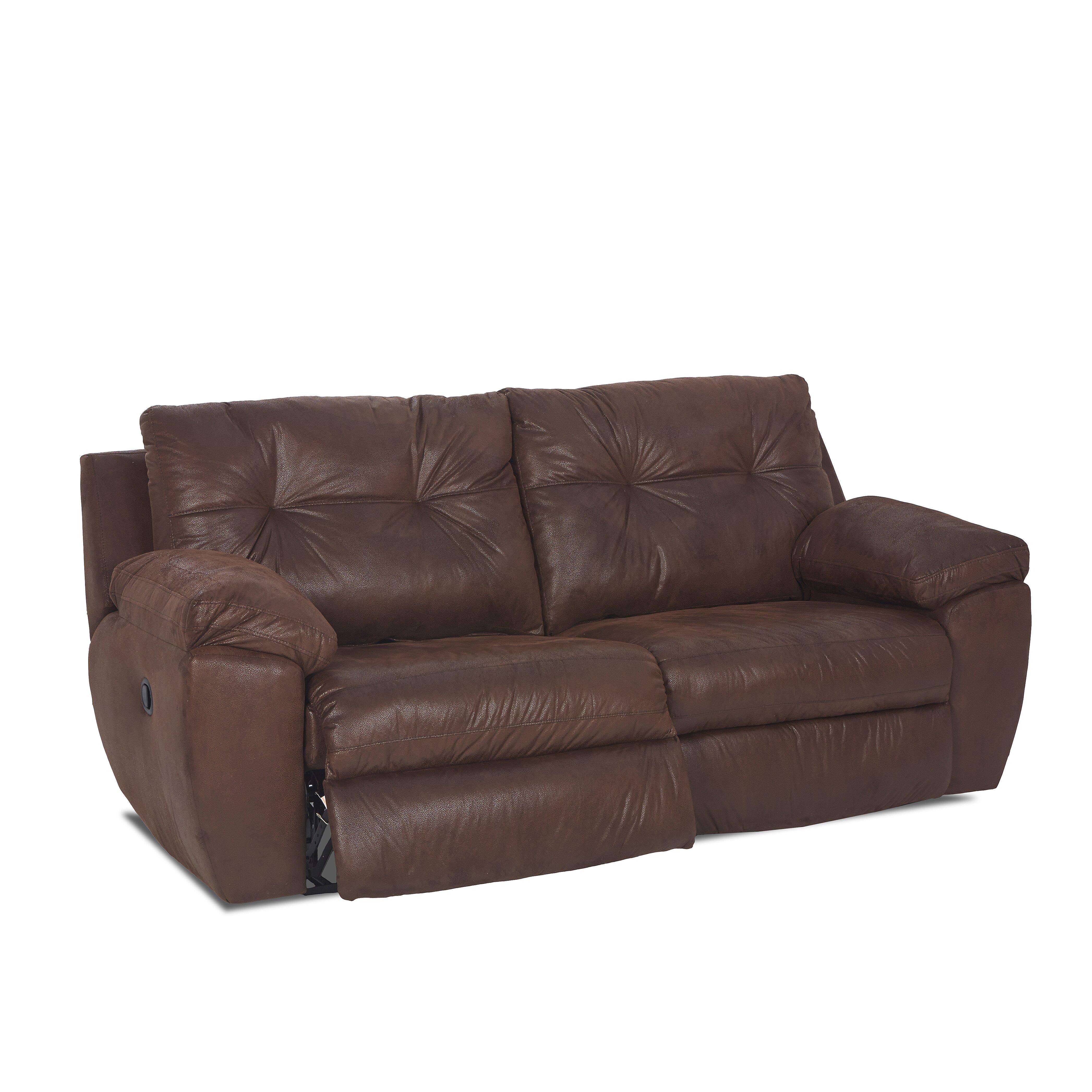 klaussner furniture kelly reclining sofa wayfair. Black Bedroom Furniture Sets. Home Design Ideas