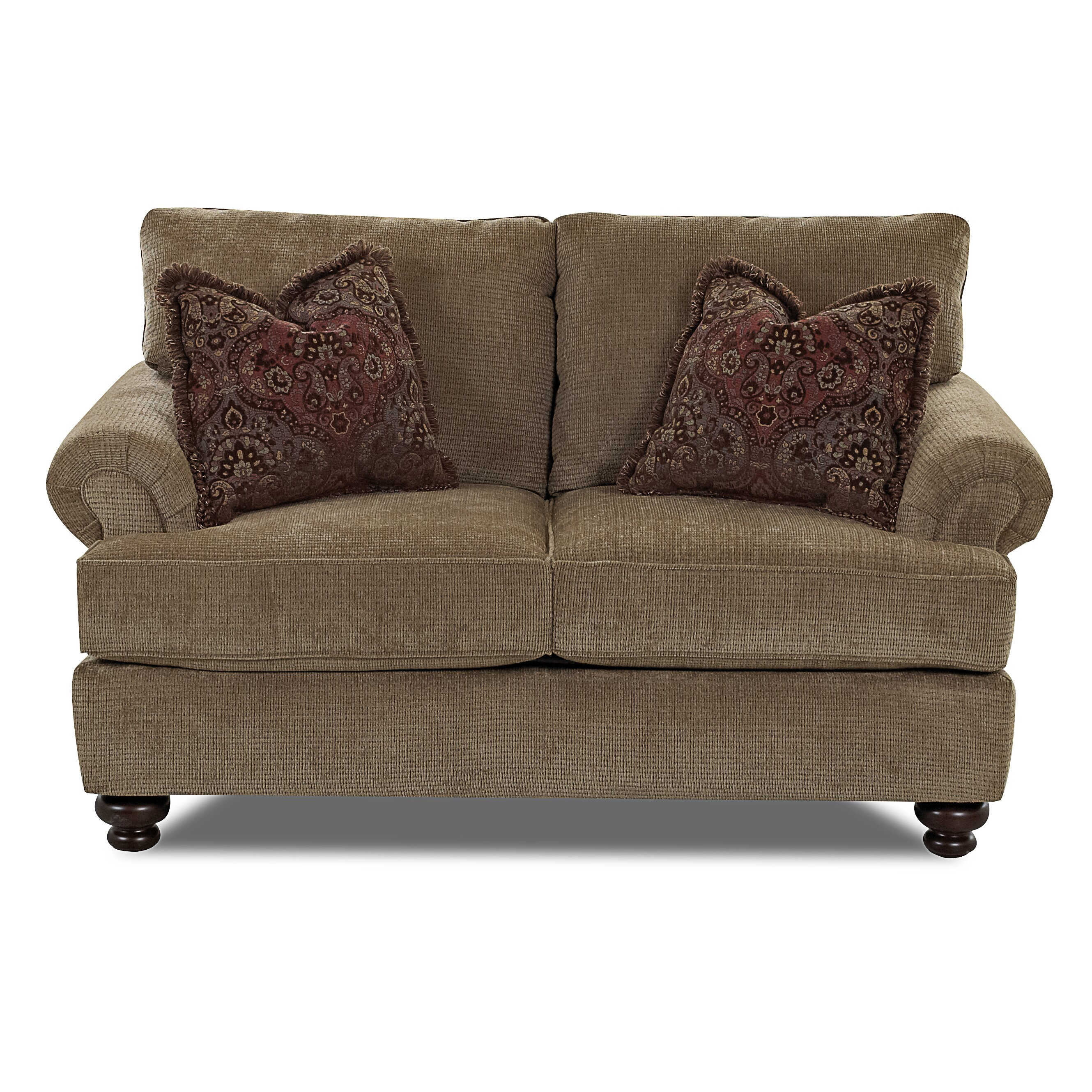 Klaussner Furniture Cross Loveseat Wayfair