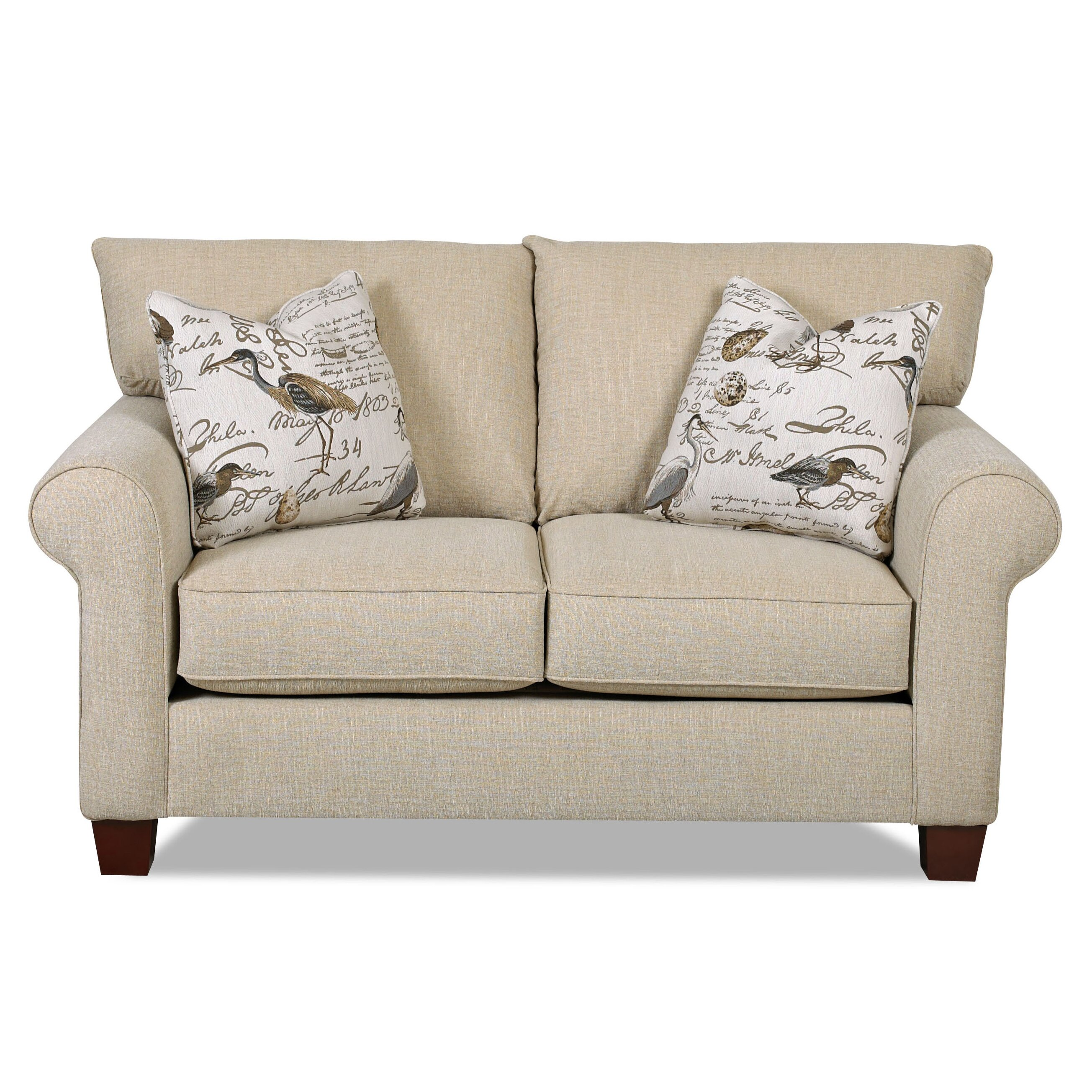 Klaussner Furniture Wheelock Loveseat
