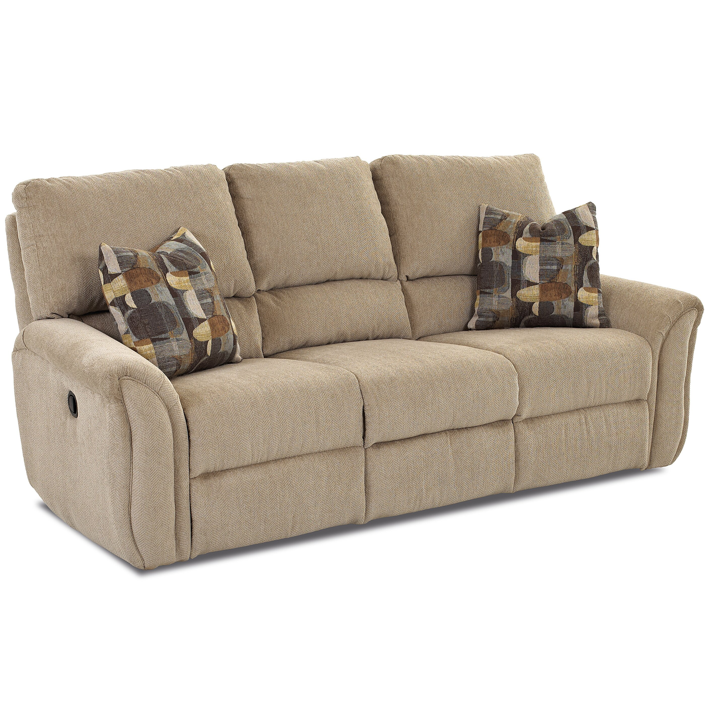 Klaussner Furniture Miley Reclining Sofa Wayfair