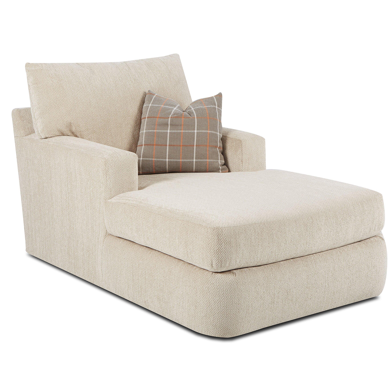 klaussner furniture simms chaise lounge reviews wayfair. Black Bedroom Furniture Sets. Home Design Ideas