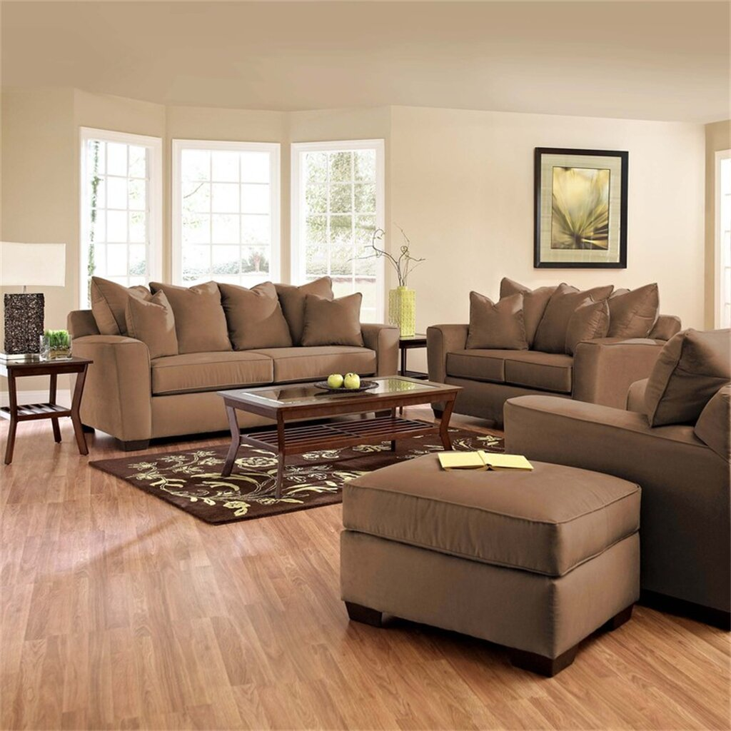 Klaussner furniture liam sofa reviews wayfair for Klaus k living room brunssi
