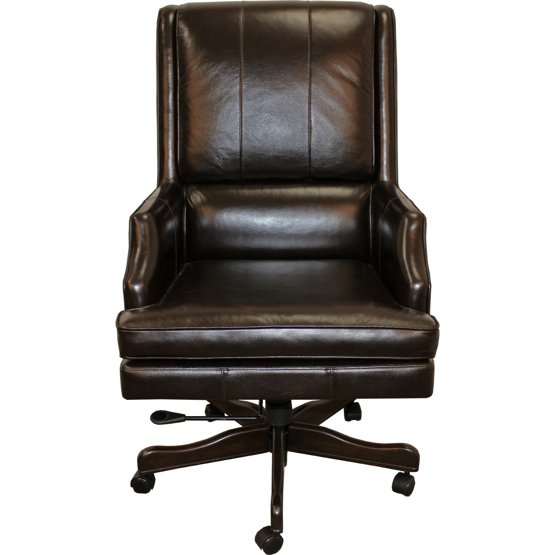 Parker house high back leather executive chair reviews for High back leather chairs