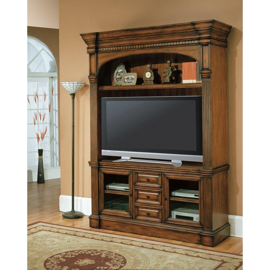parker house genoa tv stand wayfair. Black Bedroom Furniture Sets. Home Design Ideas