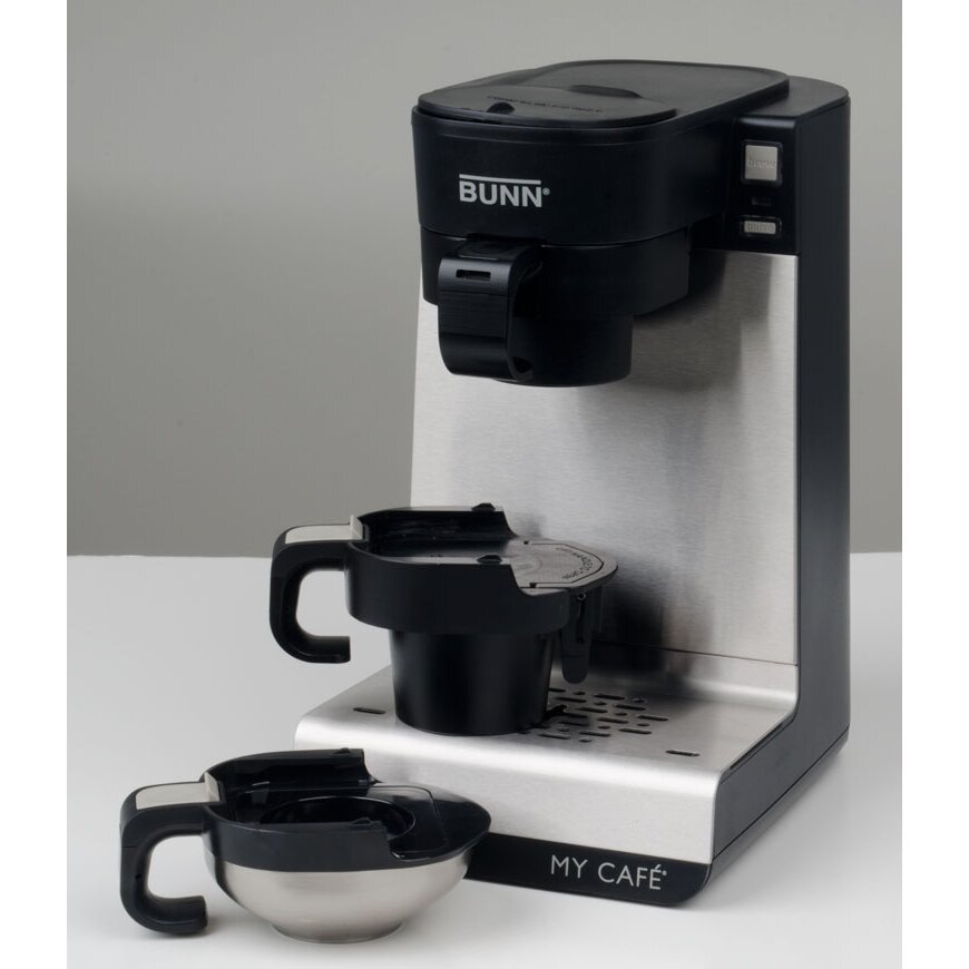 K Cup Coffee Maker Ratings : Bunn My Cafe Single Cup Multi-Use Home Coffee Maker & Reviews Wayfair