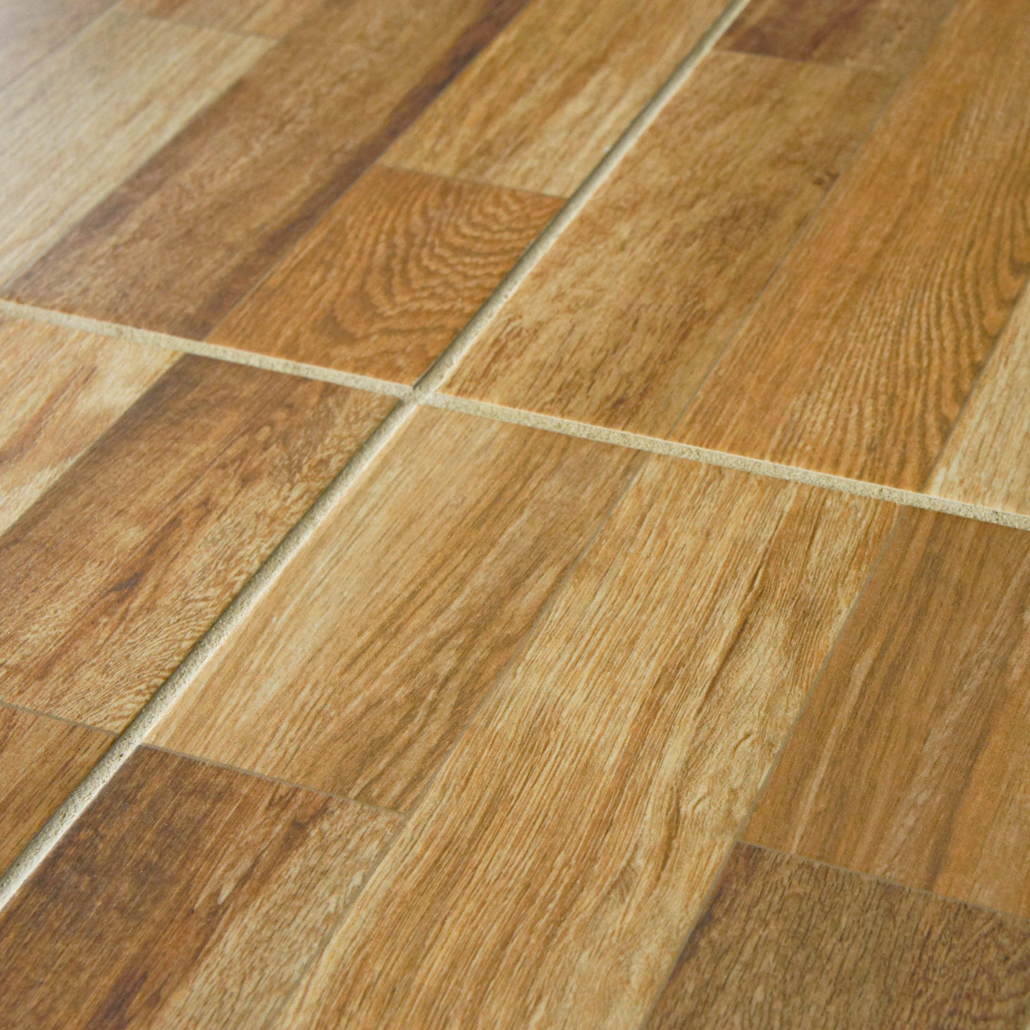 Elitetile prospero x ceramic wood tile in - Baldosas exterior antideslizantes bricodepot ...