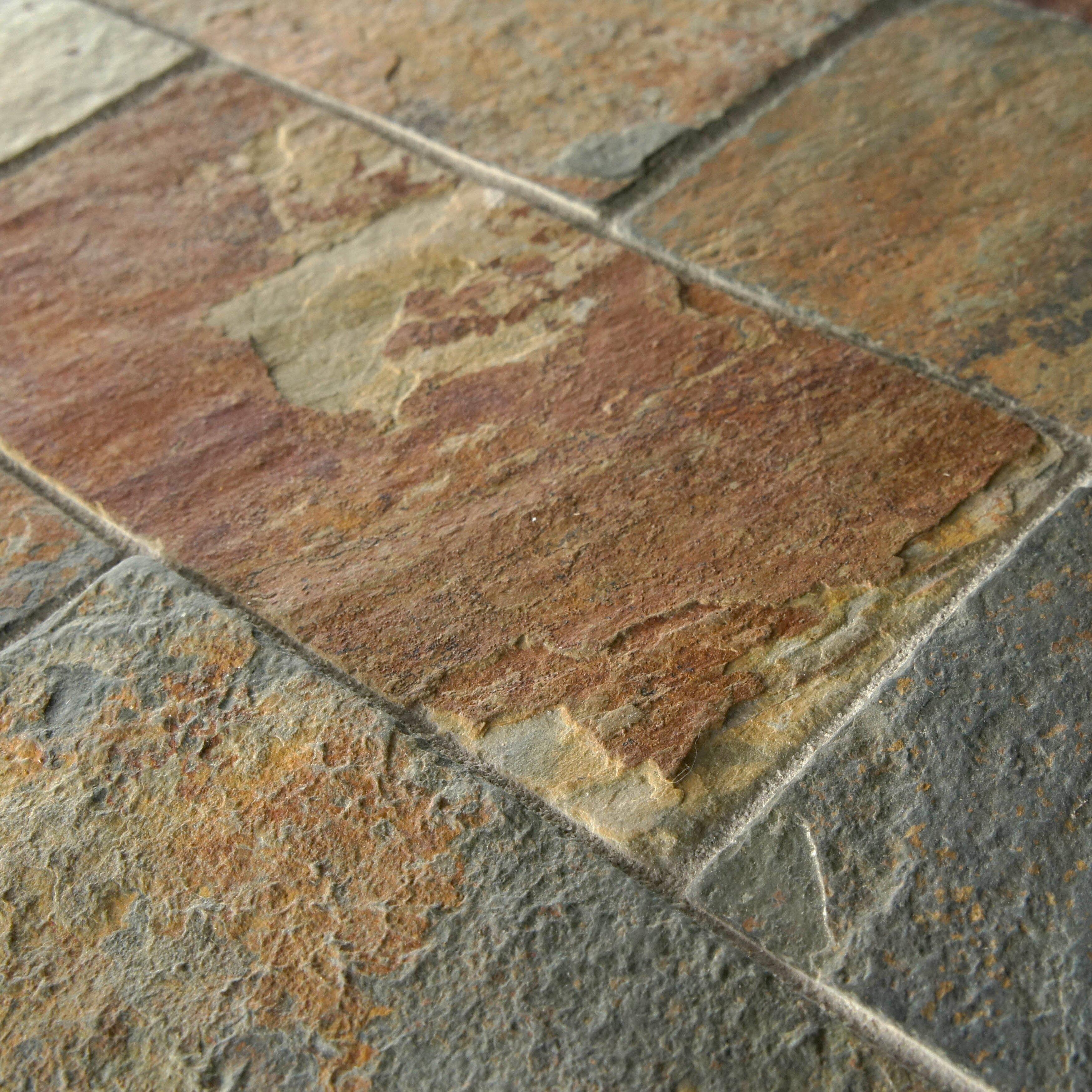 Elitetile Peak X Natural Stone Mosaic Tile In Multi Reviews Wayfair