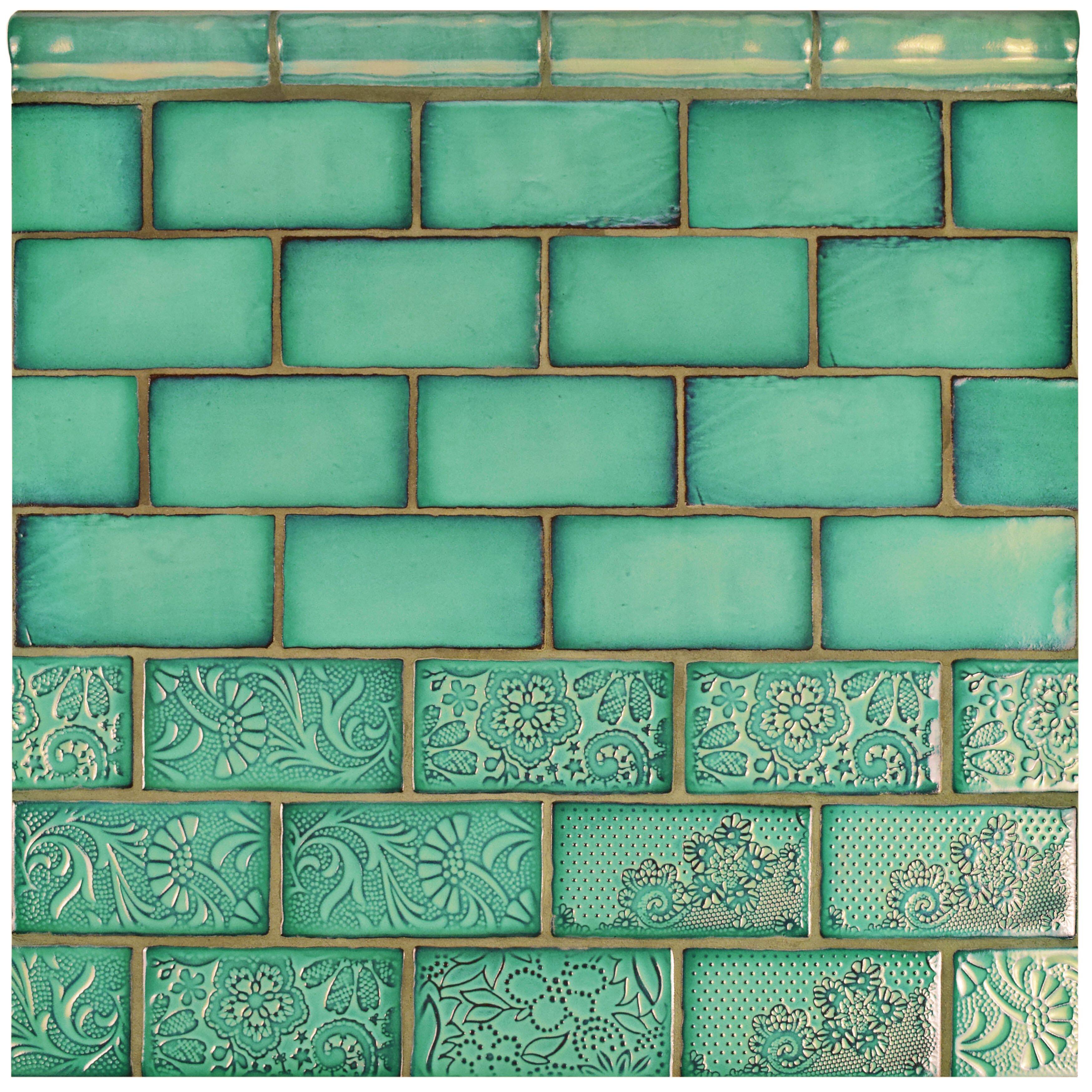 Elitetile Antiqua 3 Quot X 6 Quot Ceramic Subway Tile In Feelings