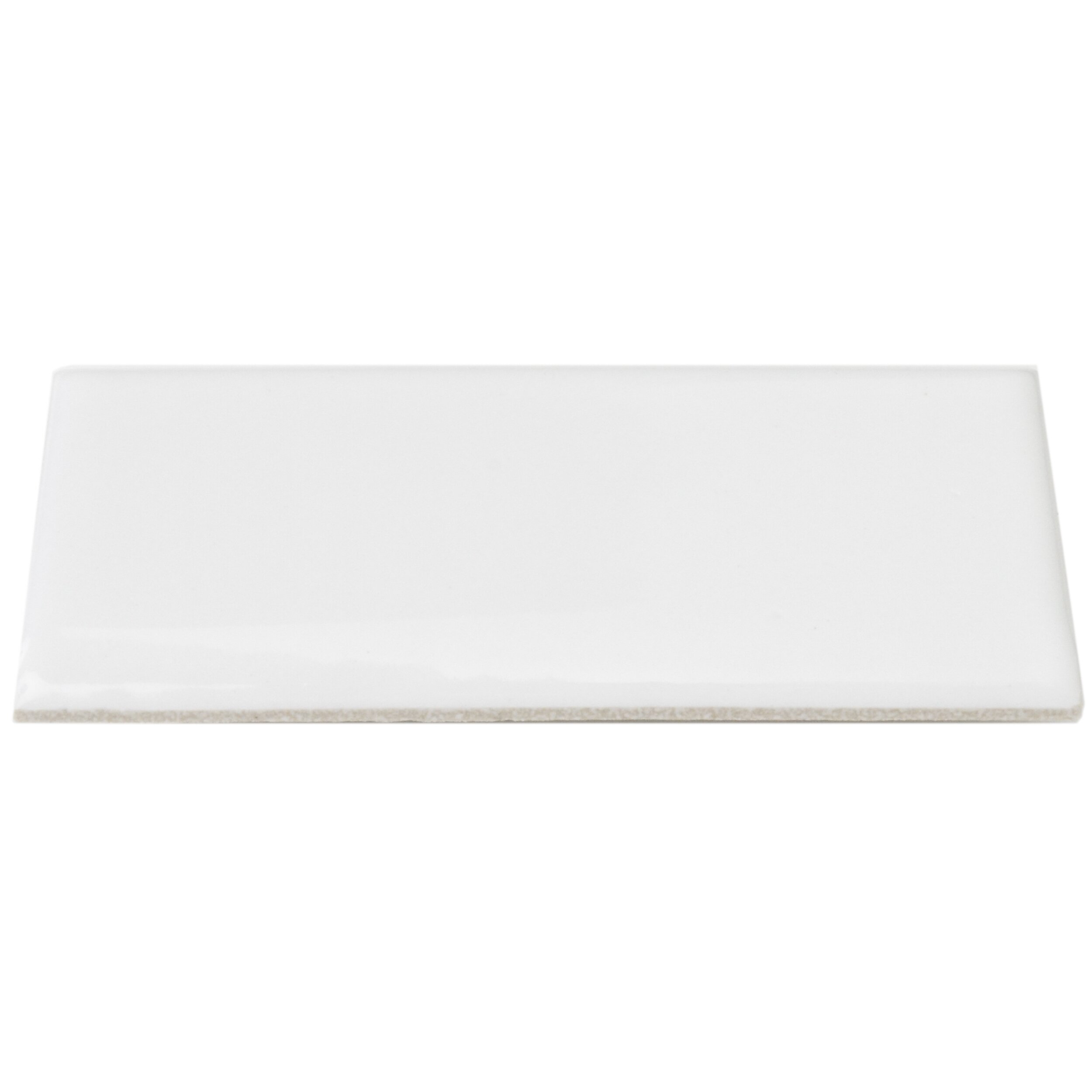 White Dining Room Set Sale Elitetile Retro 1 75 Quot X 3 75 Quot Bullnose Porcelain Tile In