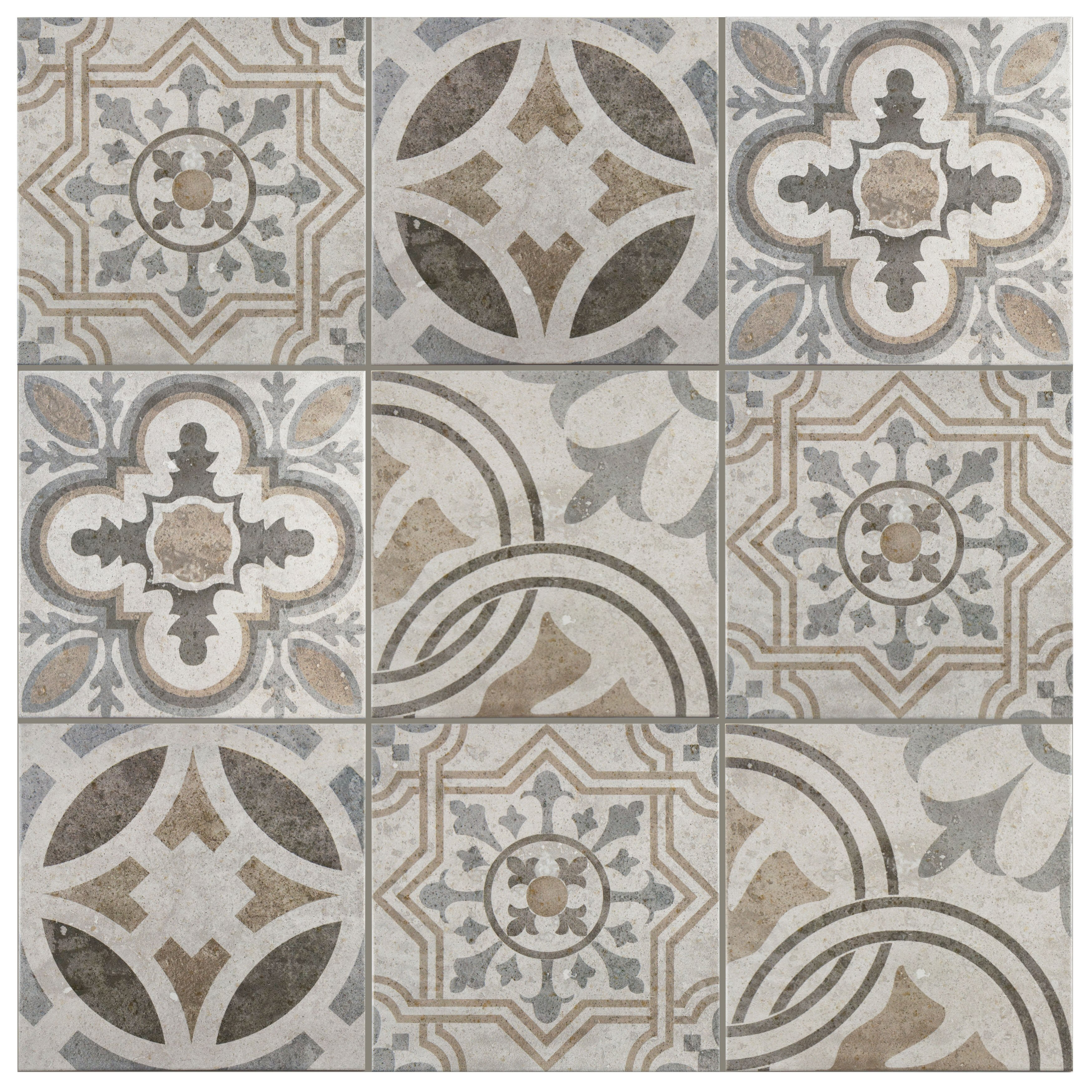 Elitetile ardisana x ceramic field tile in for Spanish clay tile