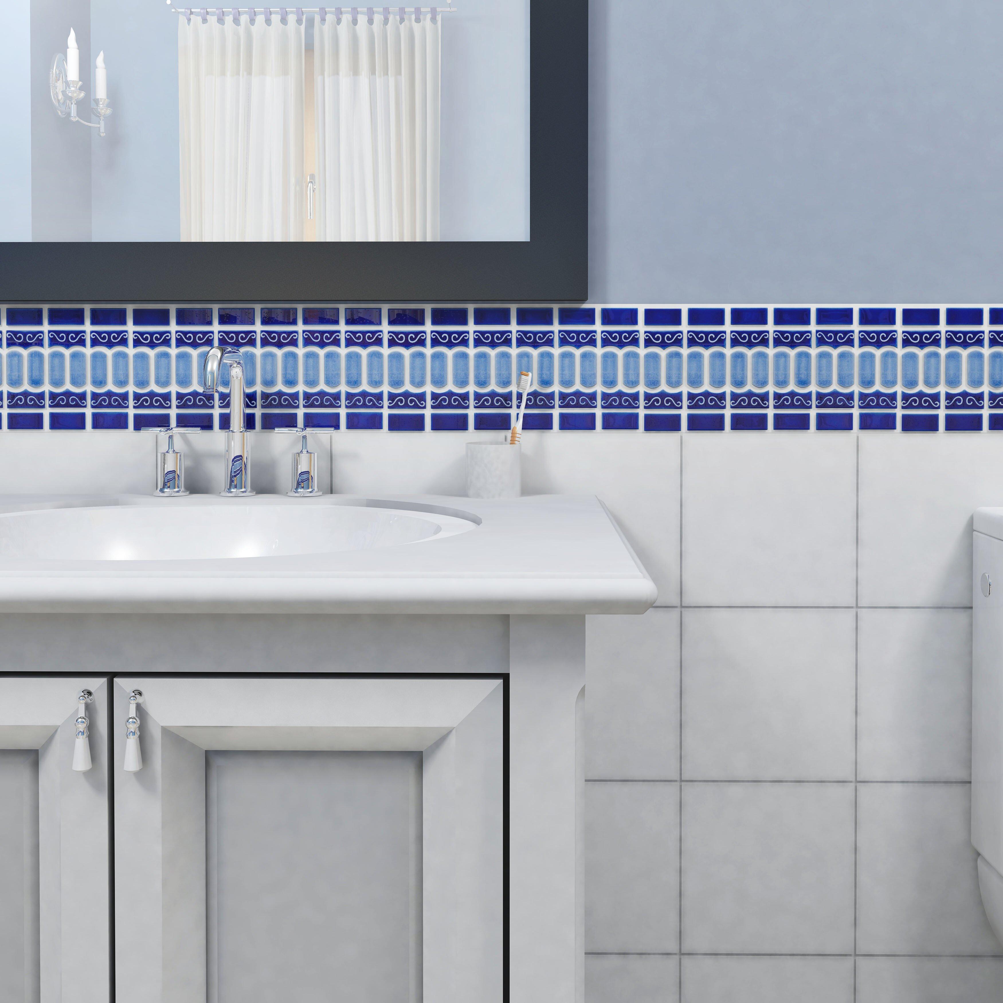 Elitetile Emilia 11 5 Quot X 13 125 Quot Porcelain Mosaic Tile In