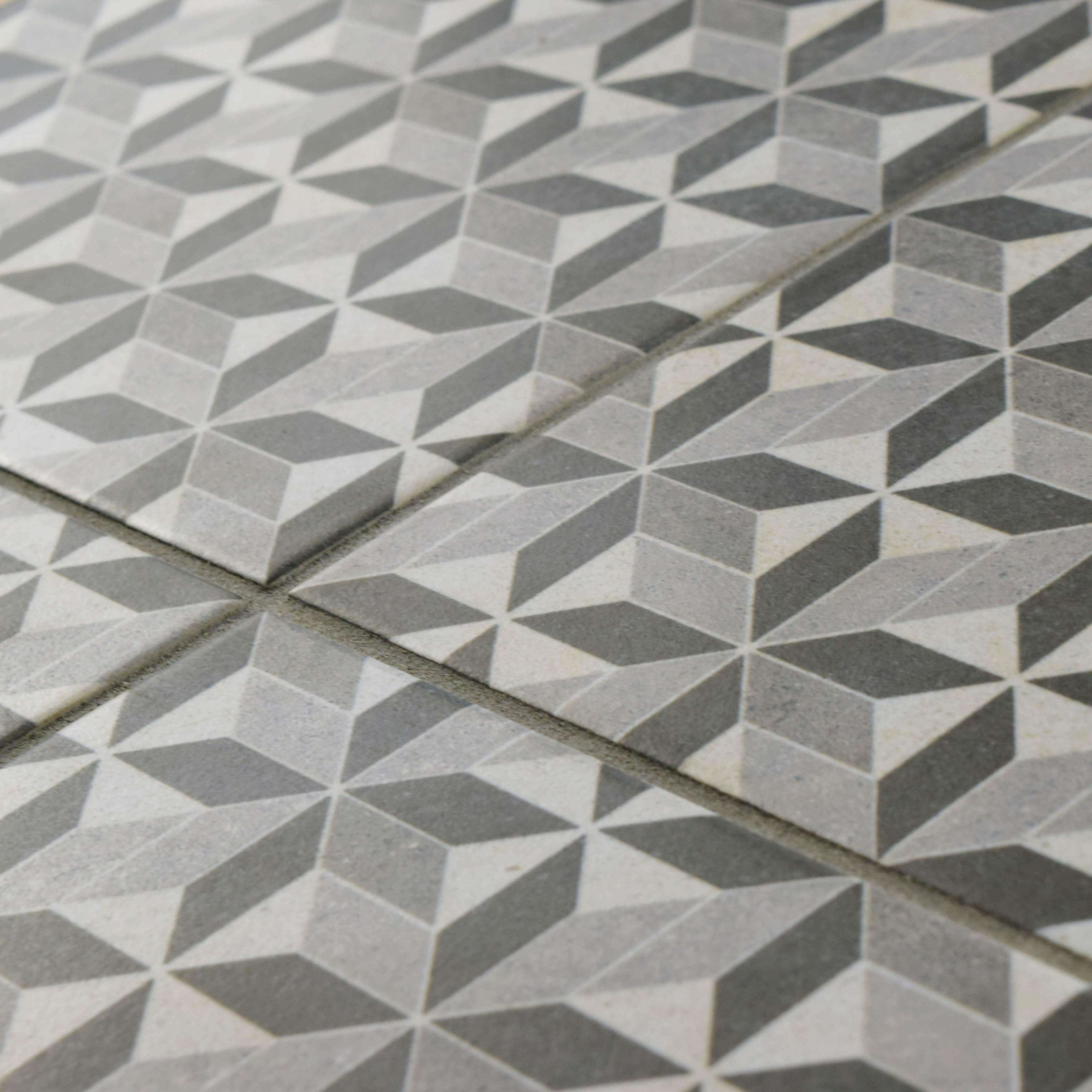 Elitetile Annata 9 5 Quot X 9 5 Quot Porcelain Field Floor And