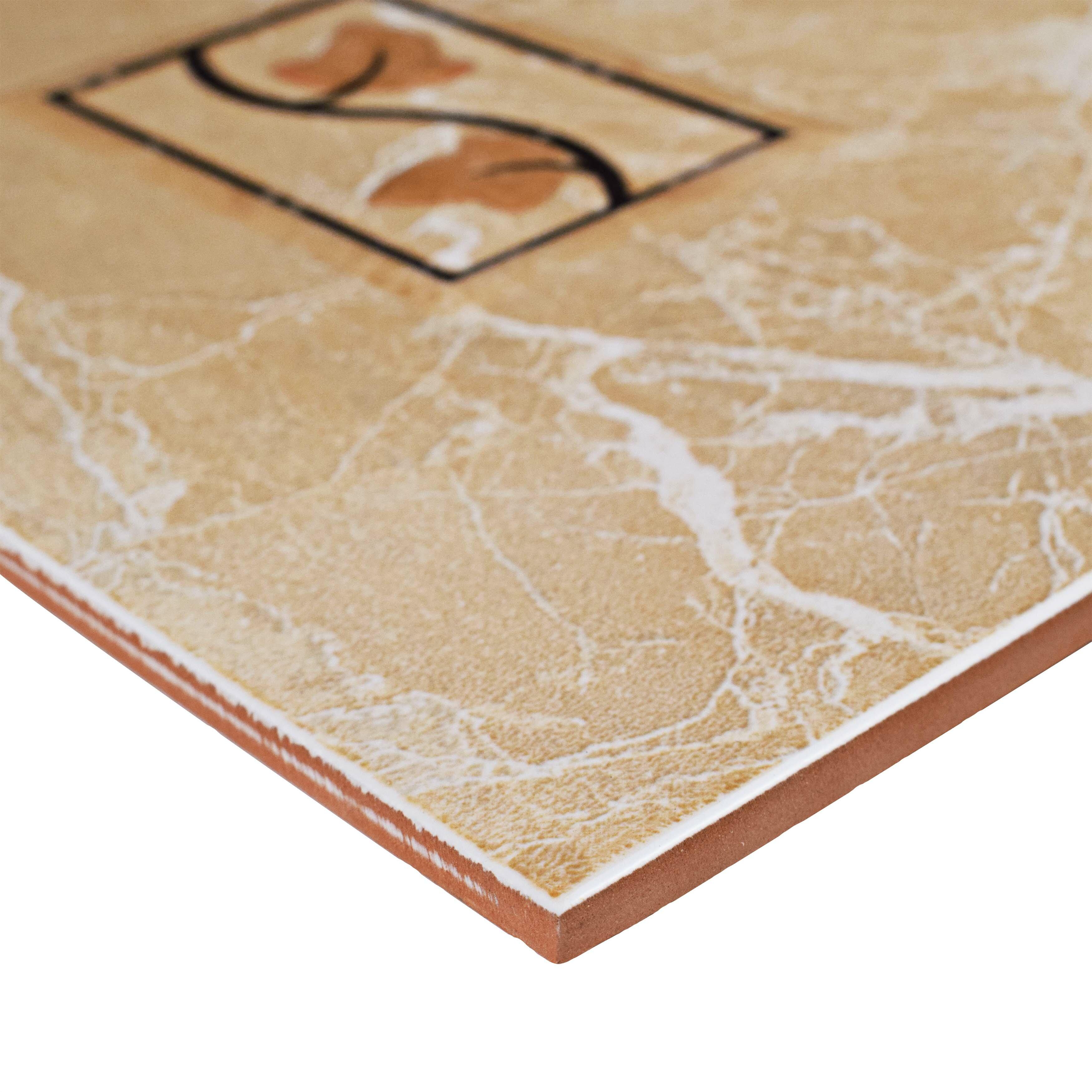 Elitetile Playa 12 X 8 Ceramic Wall Trim Decorative