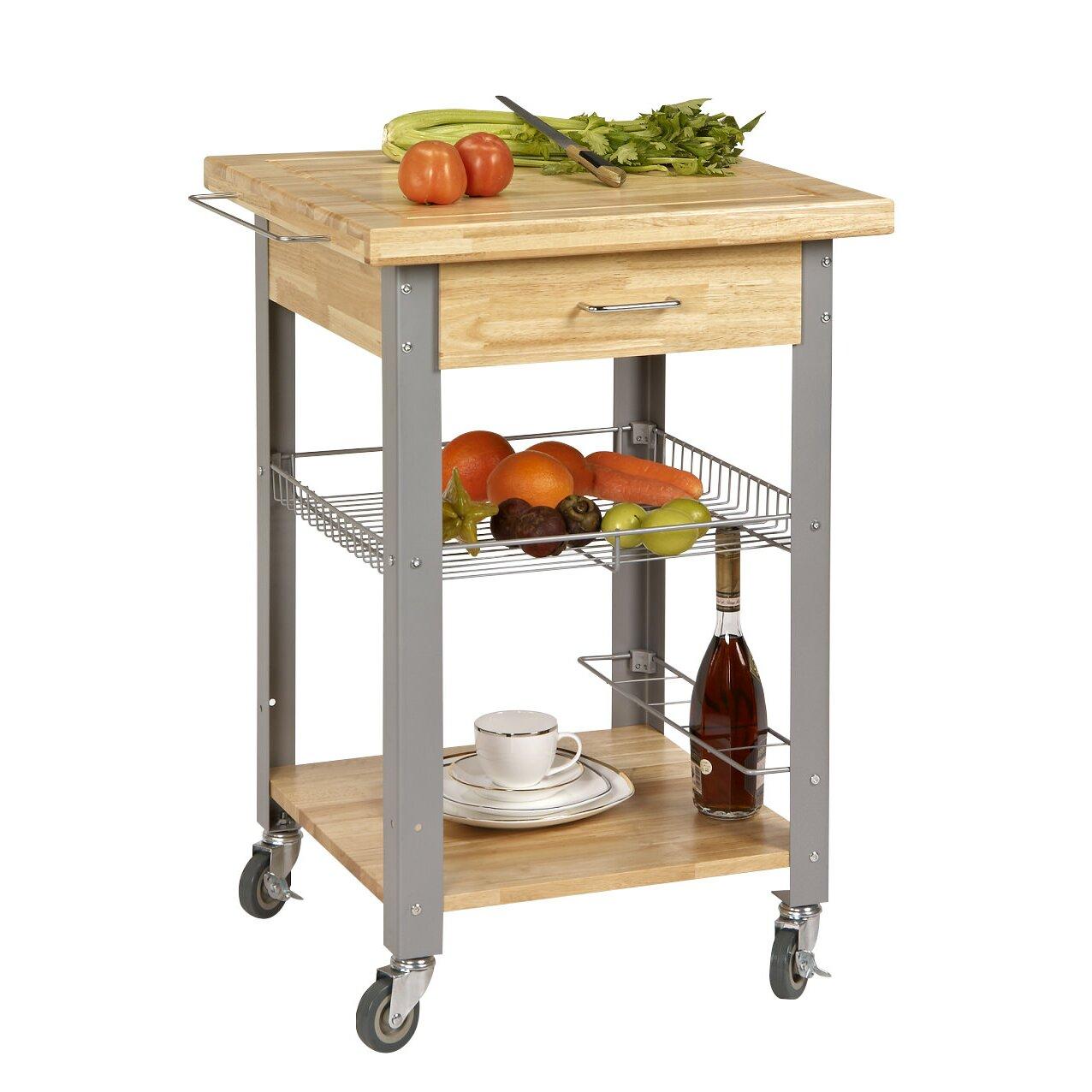 Corner Housewares Rolling Storage And Organization Kitchen