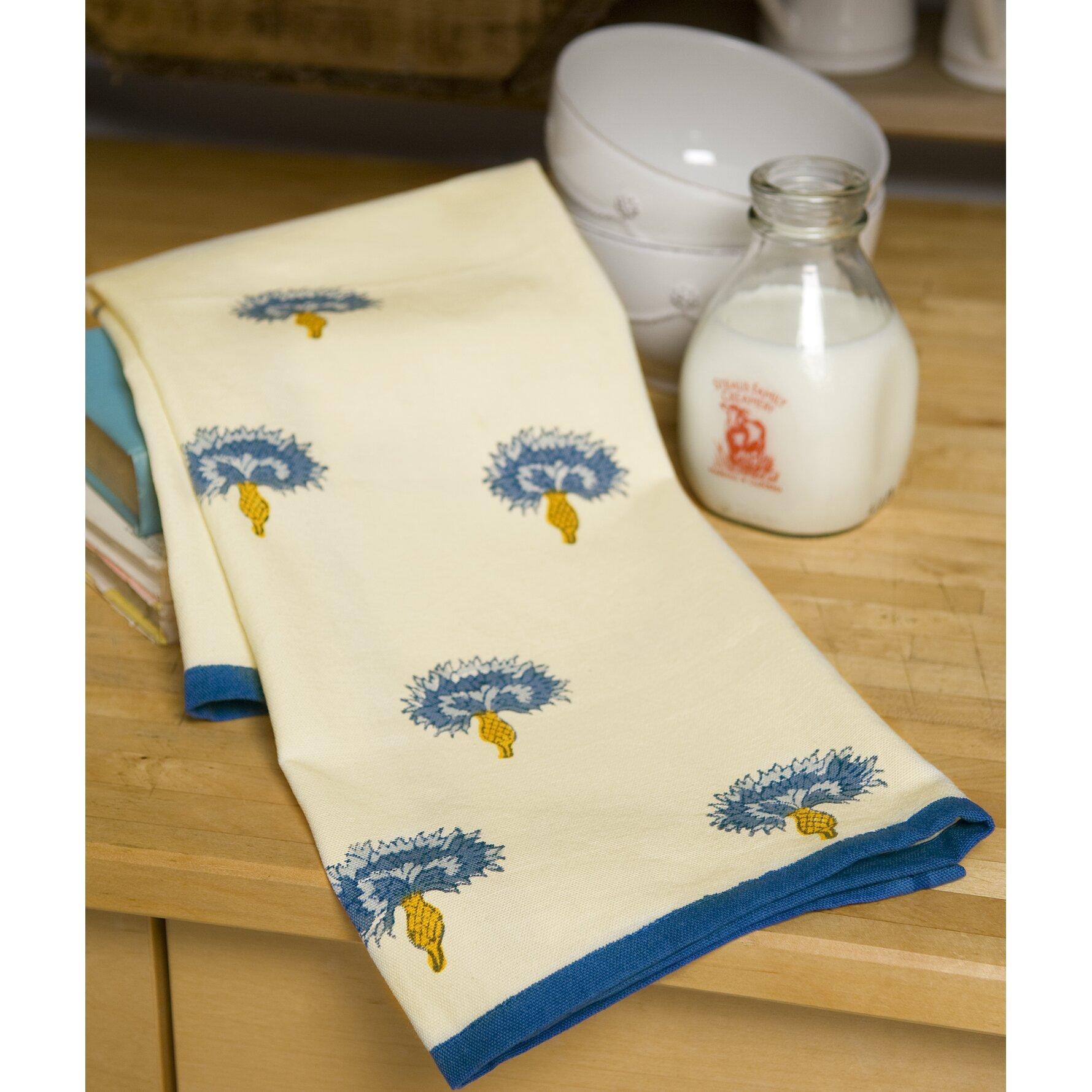 Dog Eating Tea Towel