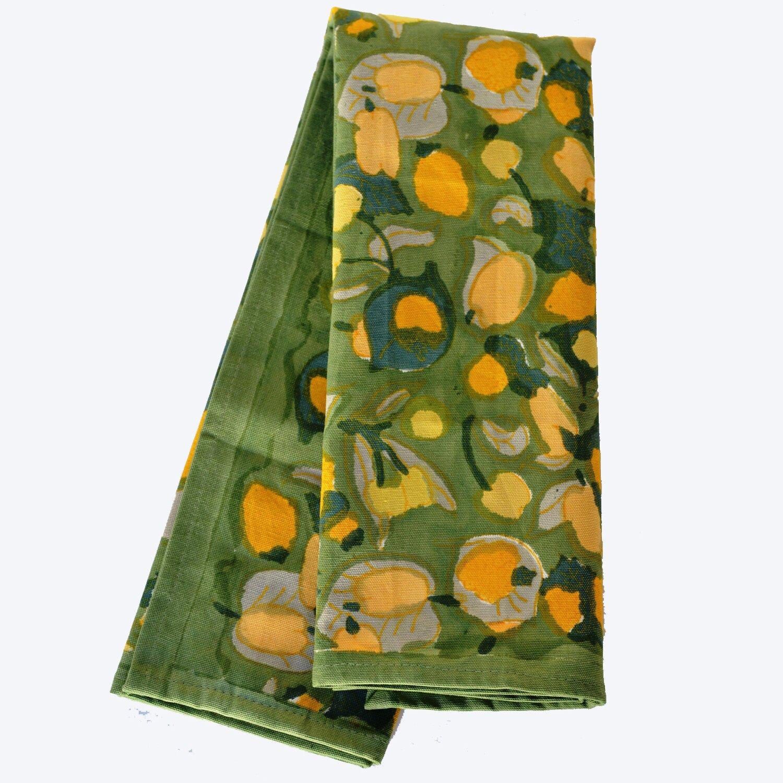 couleur nature fruit yellow green tea towel reviews. Black Bedroom Furniture Sets. Home Design Ideas