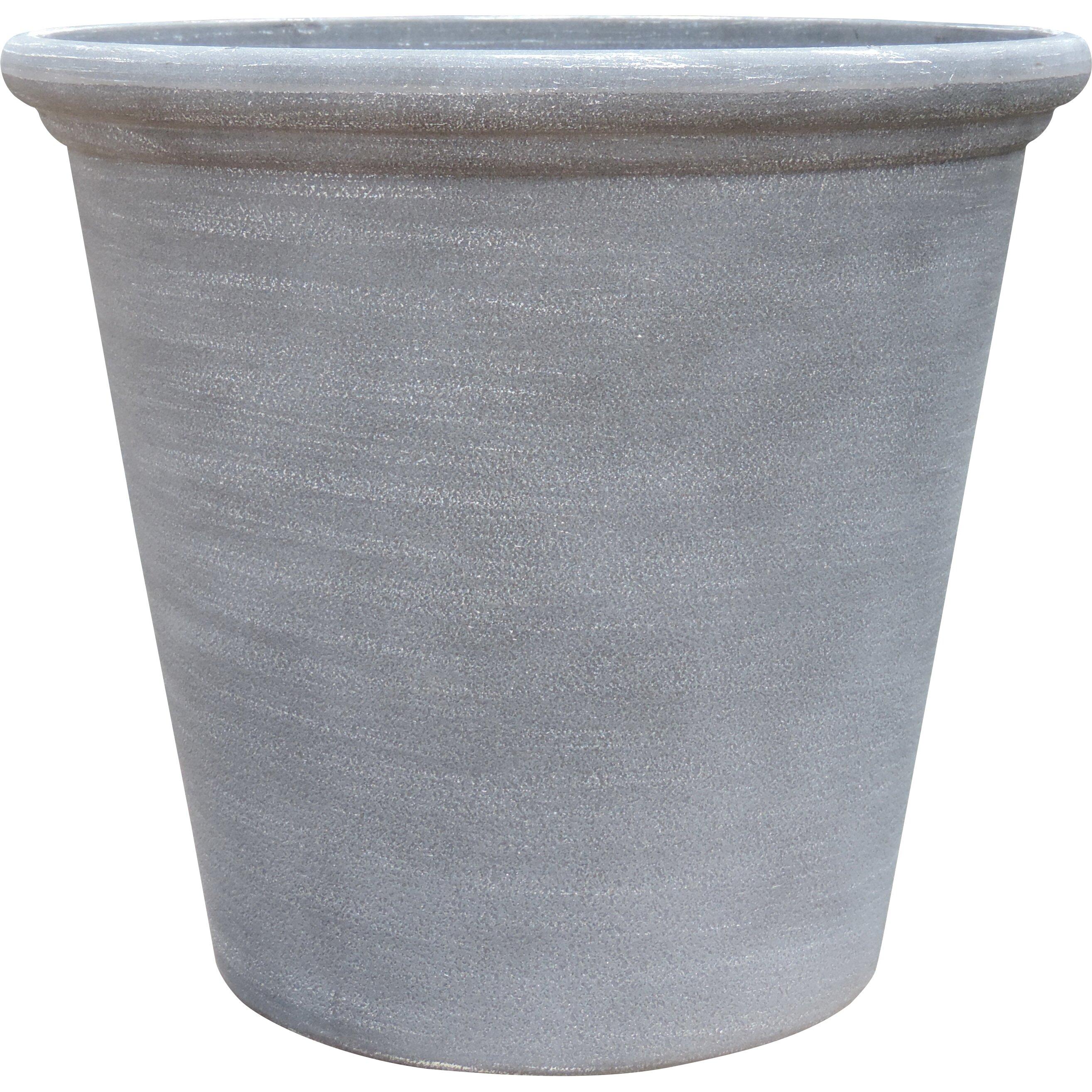 Griffith Creek Designs Round Pot Planter Amp Reviews Wayfair