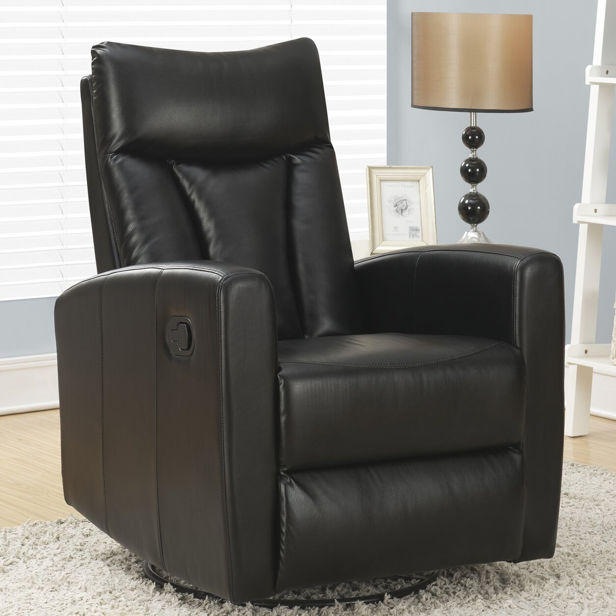 Monarch Specialties Inc Swivel Glider Recliner Reviews
