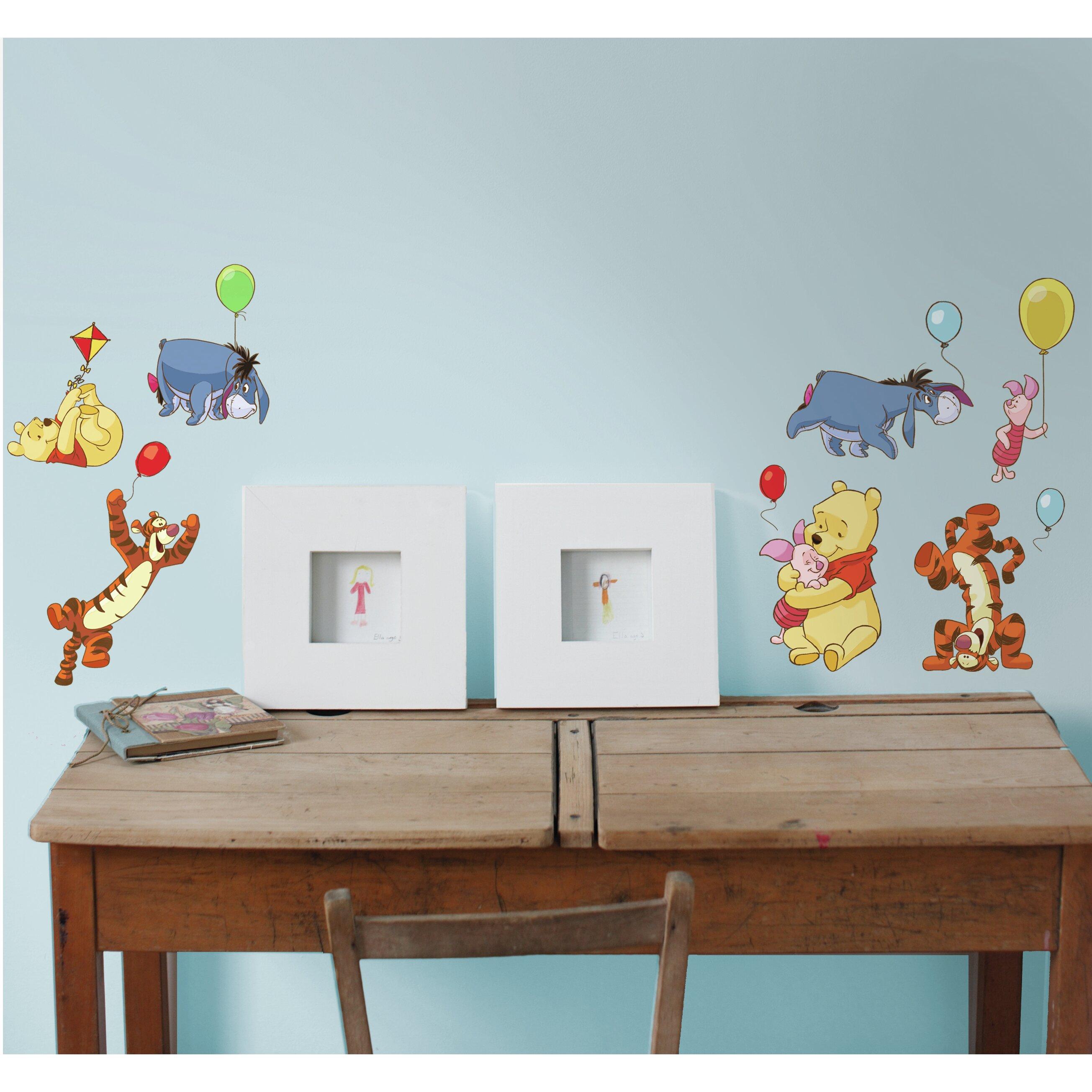 disney winnie the pooh wall sticker wayfair uk winnie the pooh wall sticker quote stickythings co za