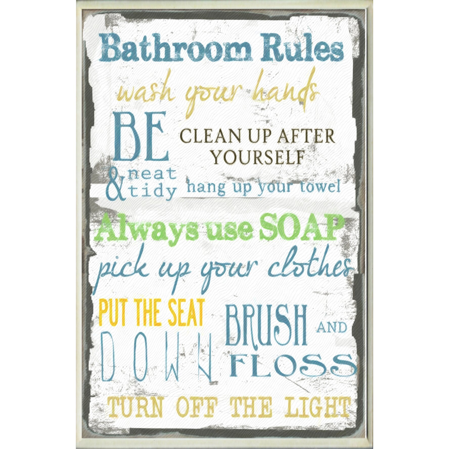 Bathroom Rules – Autocars