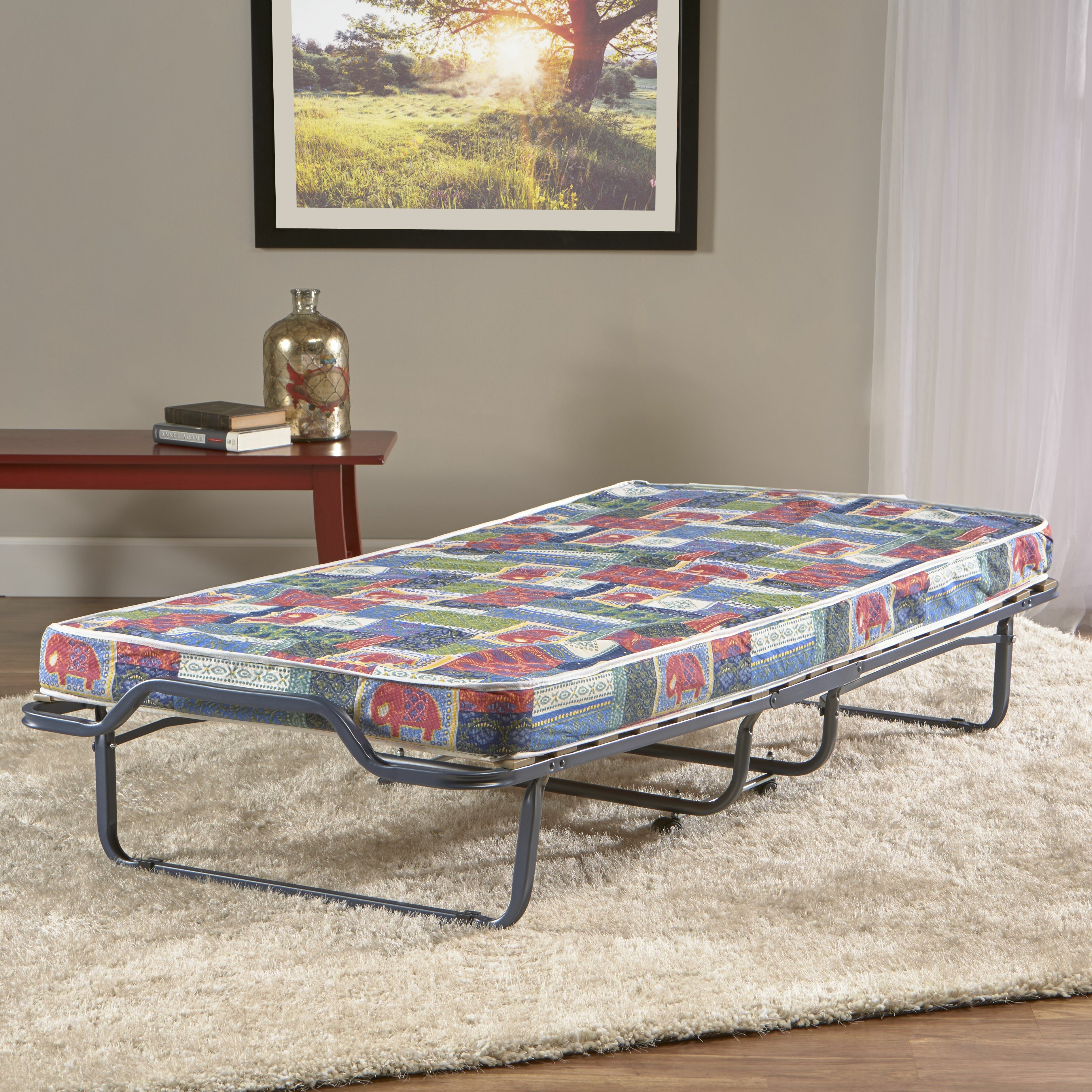 Folding Beds Reviews : Innerspace luxury products folding bed reviews wayfair