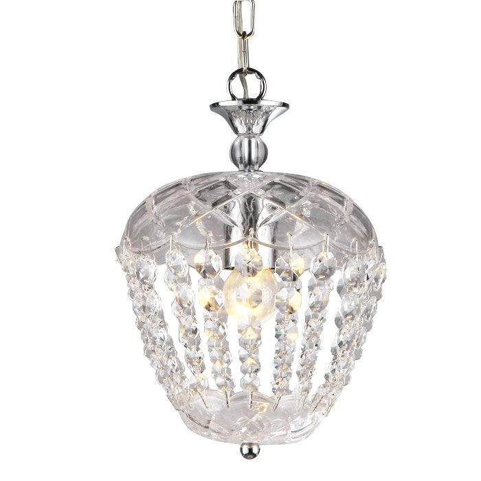 Warehouse Of Tiffany Maria 1 Light Mini Chandelier