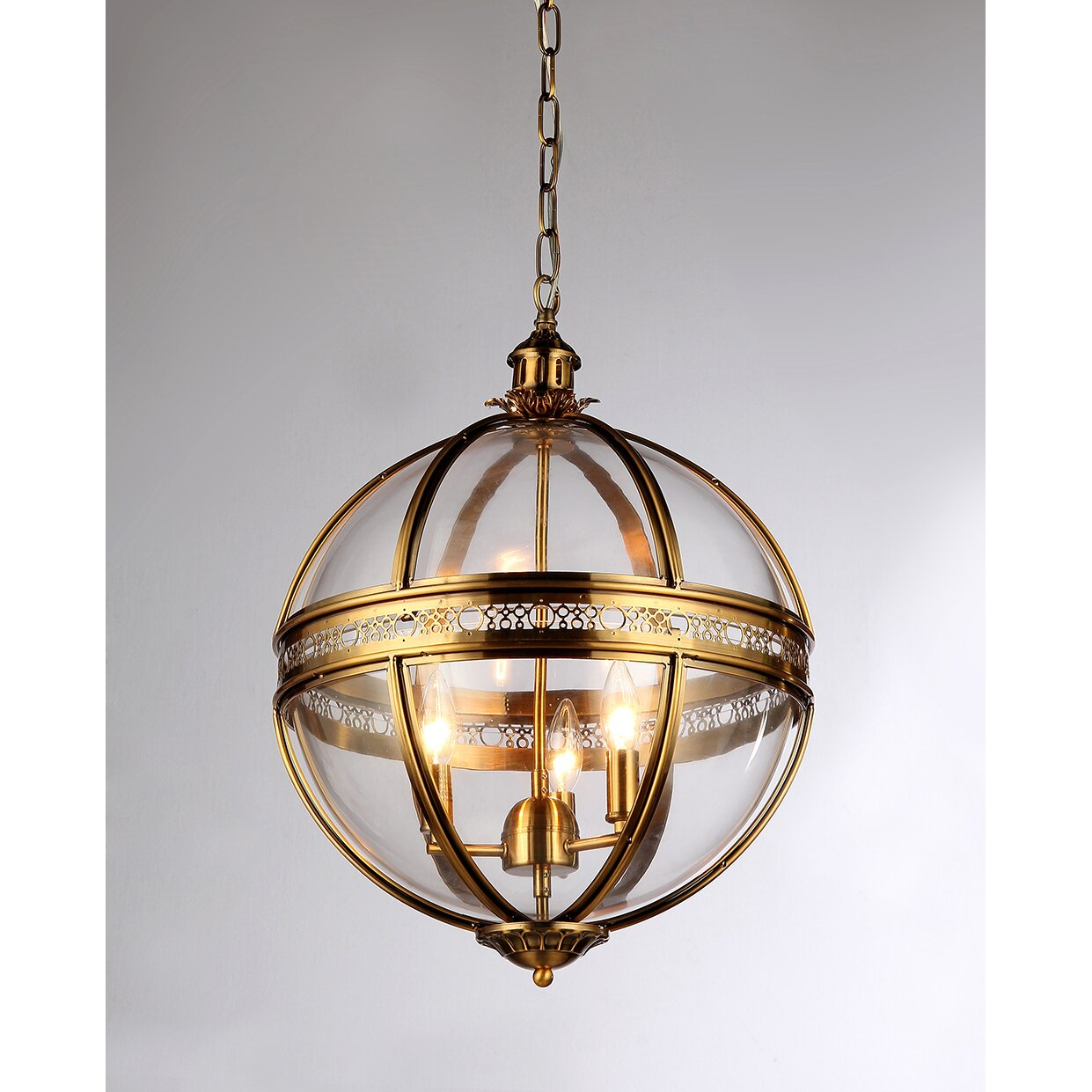 Save. Pretty Darn Good Restoration Hardware Victorian Hotel Pendant Knockoff  ...