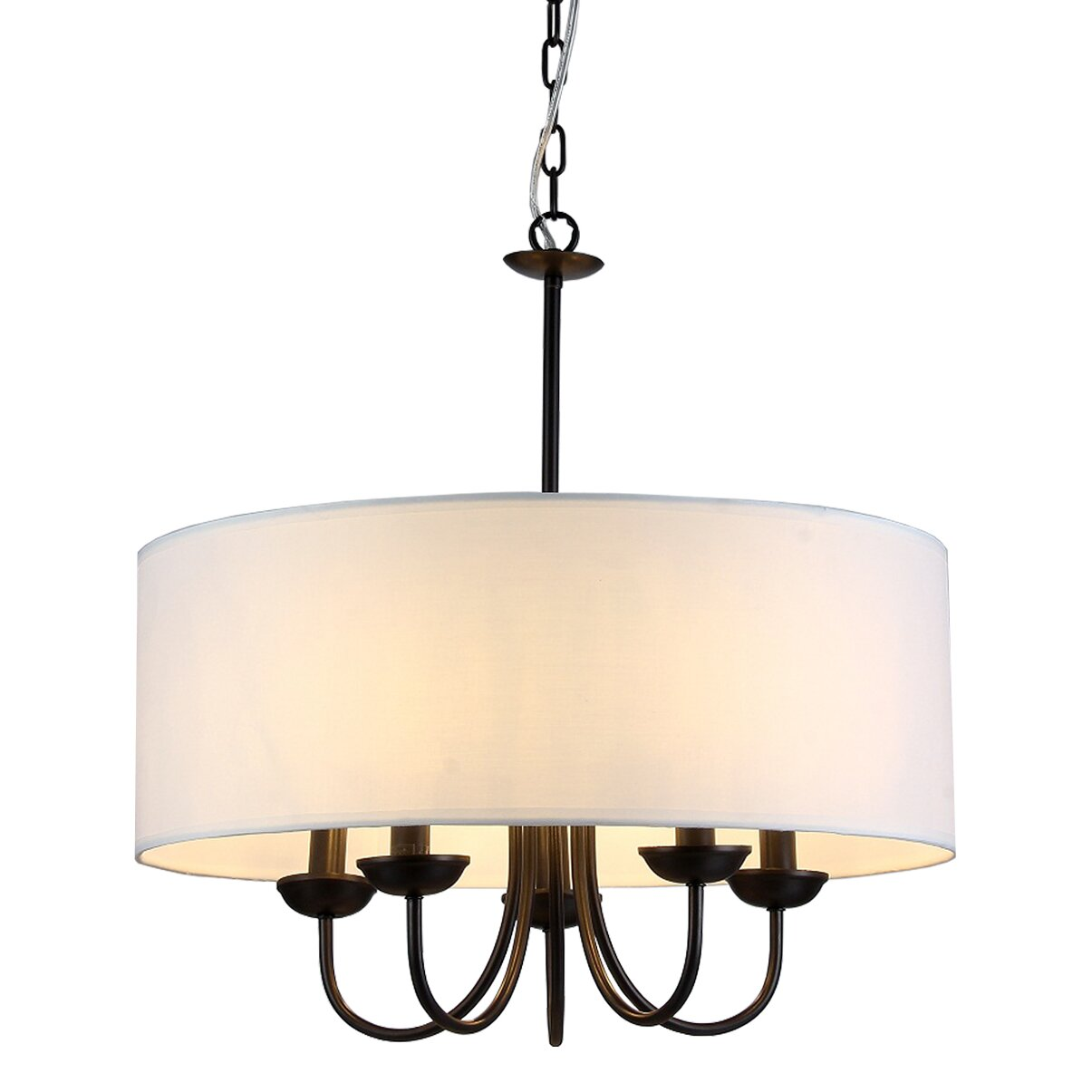 Warehouse of tiffany gwenevere 5 light drum chandelier wayfair - Lighting and chandeliers ...