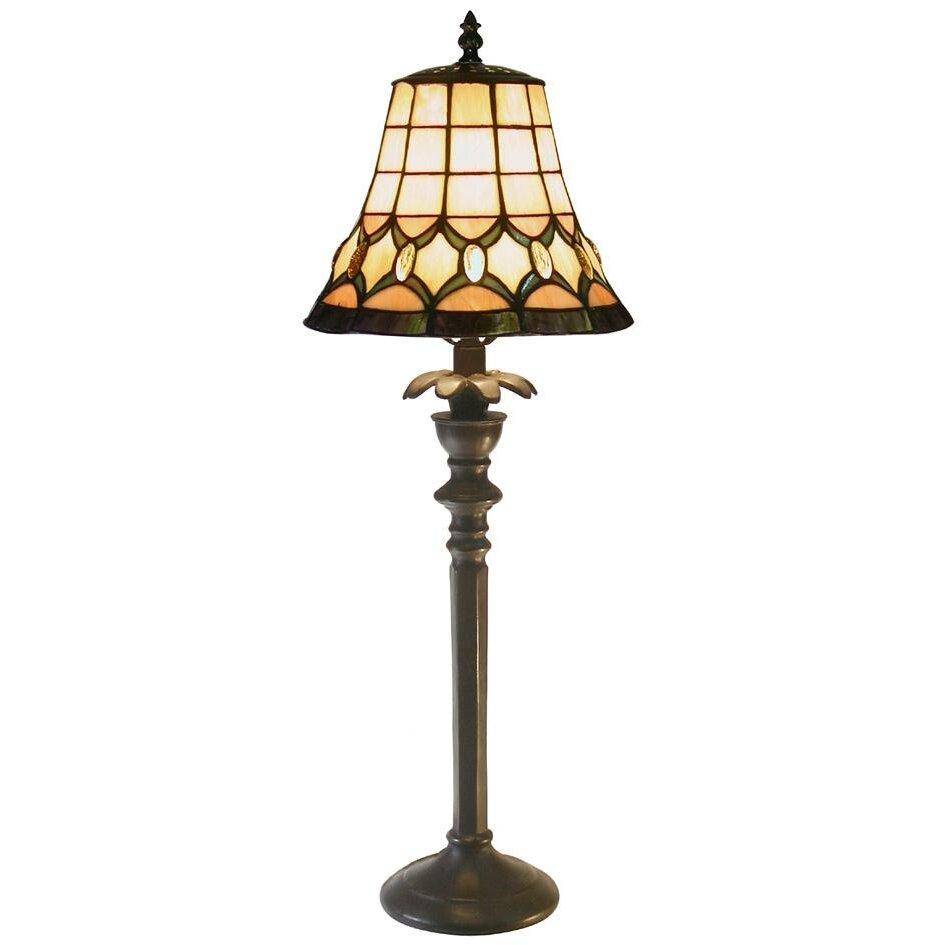 Warehouse Of Tiffany Jeweled 27 Table Lamp Reviews