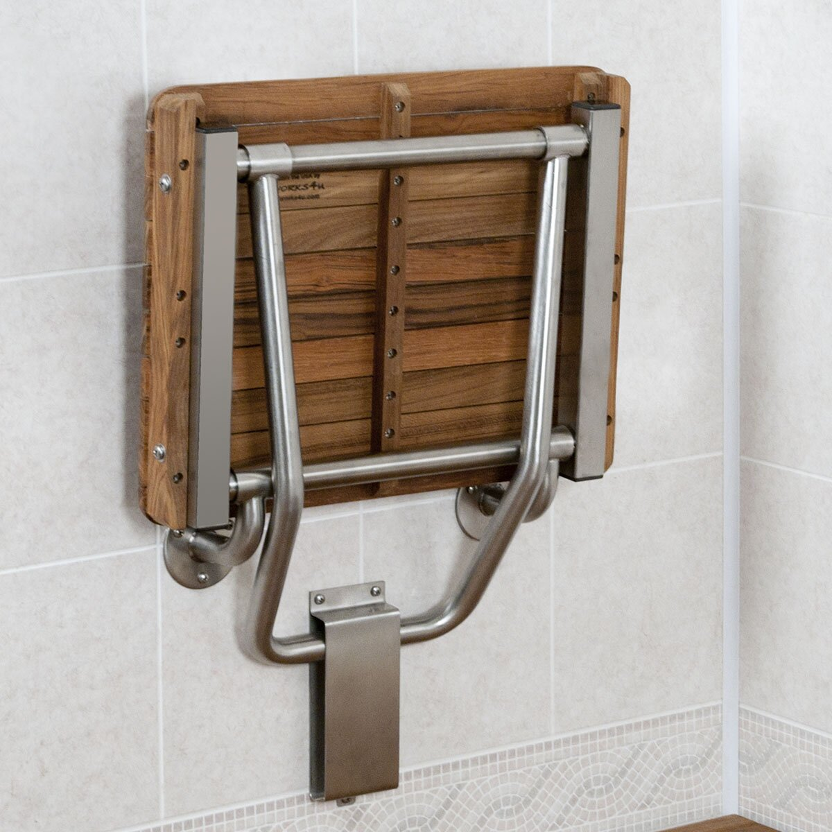 Teakworks4u Teak Shower Seat Reviews Wayfair