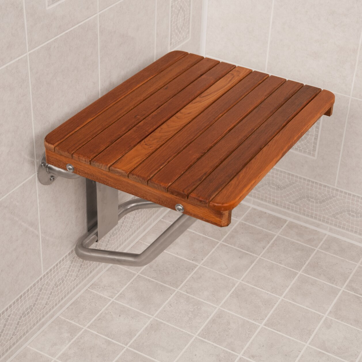 Teakworks4u Teak Shower Transfer Bench Seat Amp Reviews