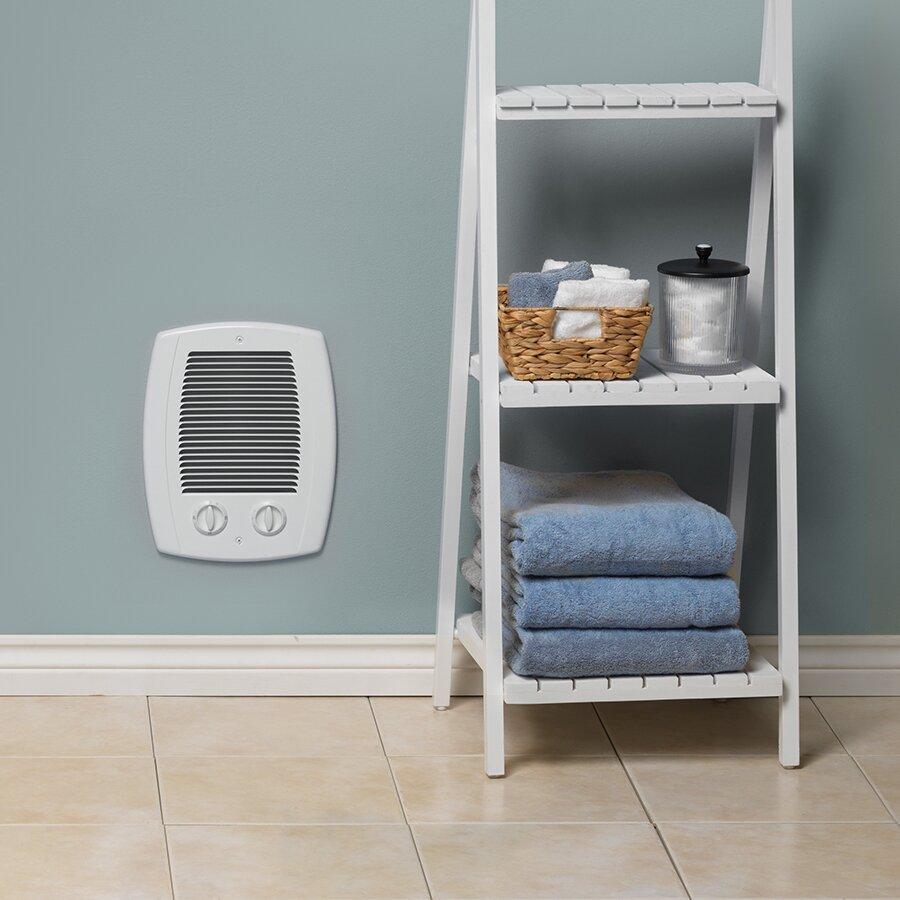 Electric Wall Heaters Bathroom: Cadet Com-Pak Bath 1,000-Watt 120/240-Volt Electric Fan