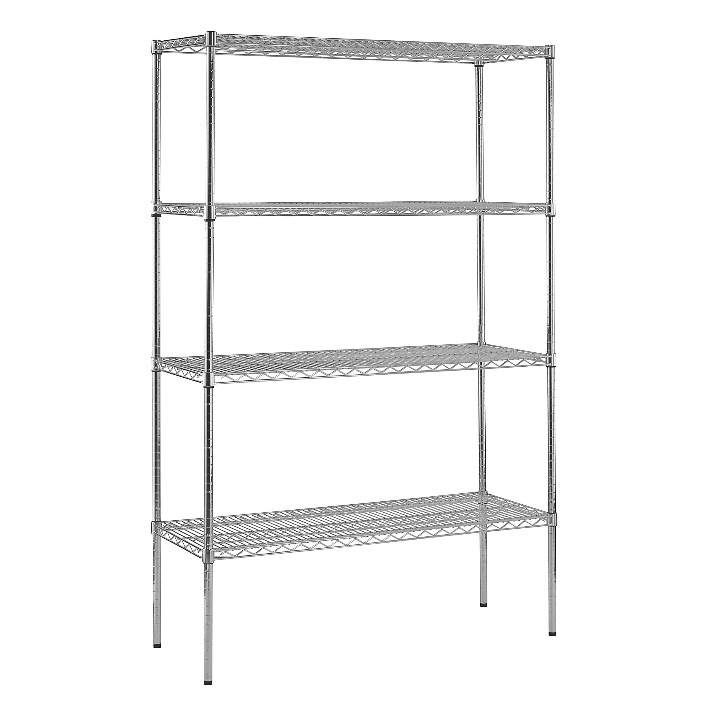 Sandusky Heavy Duty Shelf Wire Shelving Unit Reviews