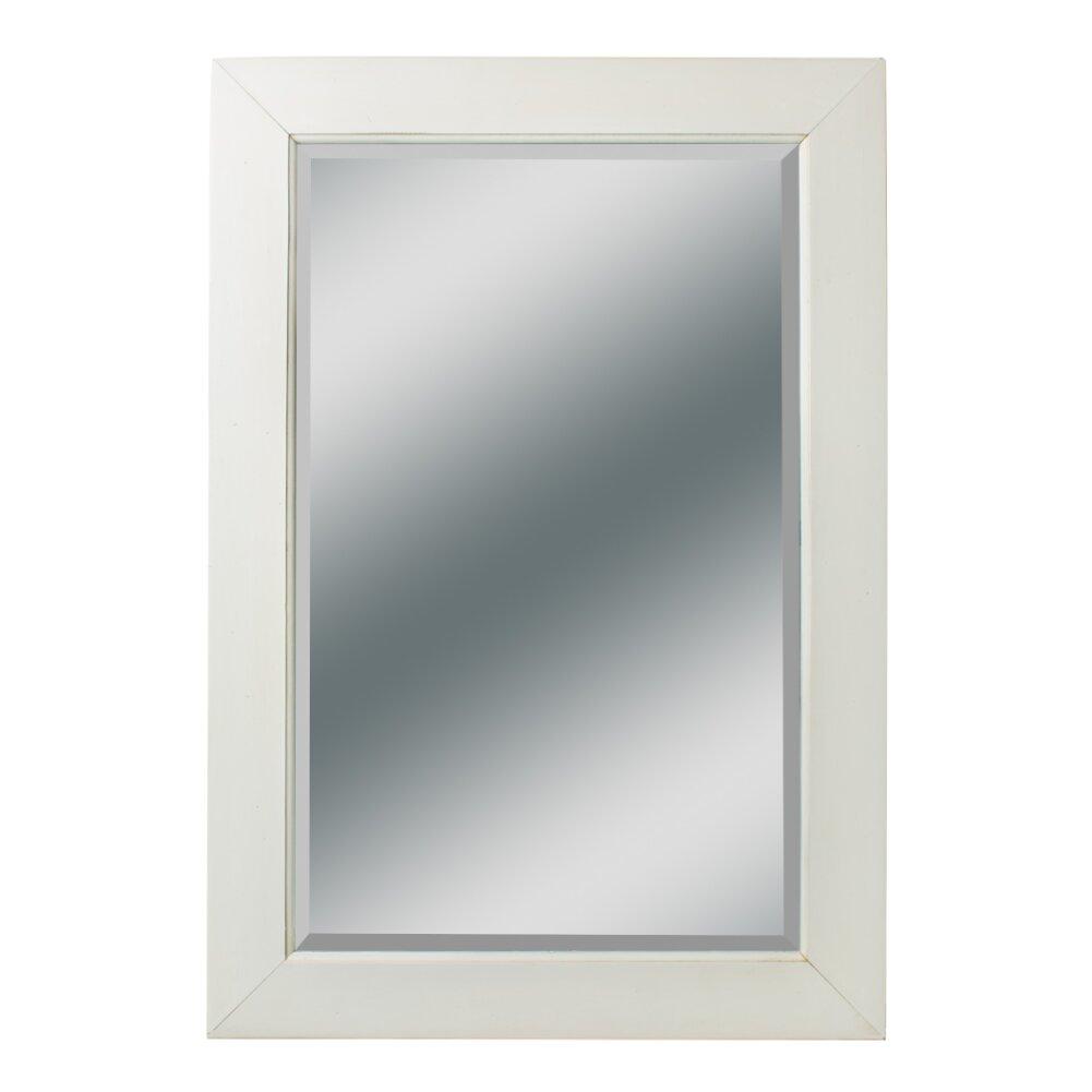 Kaco dover large vanity mirror wayfair for Large vanity mirror