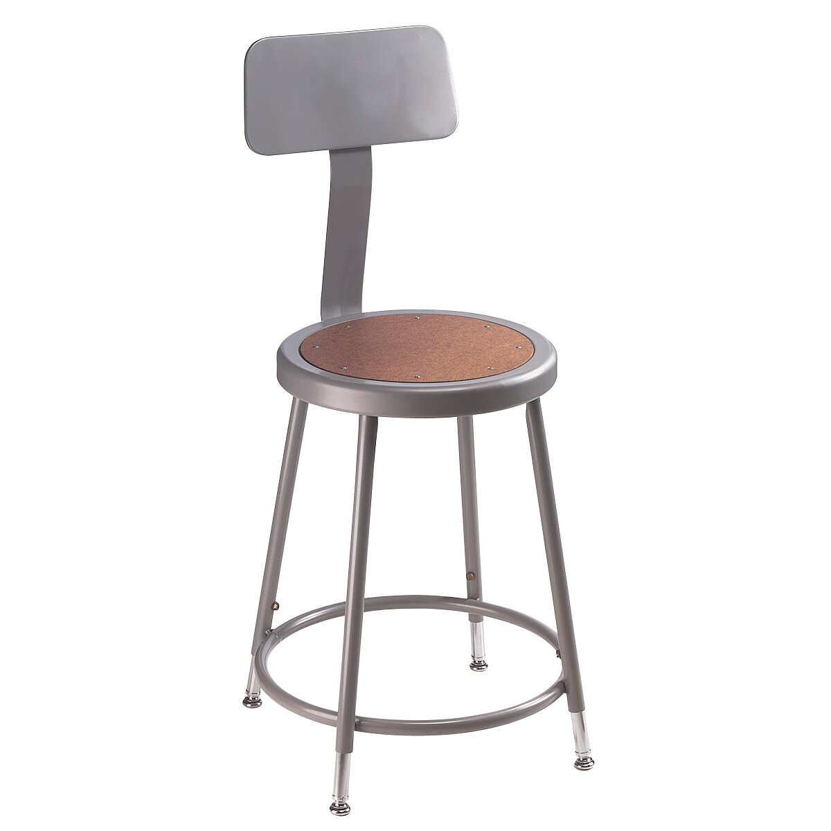National Public Seating Height Adjustable Stool With