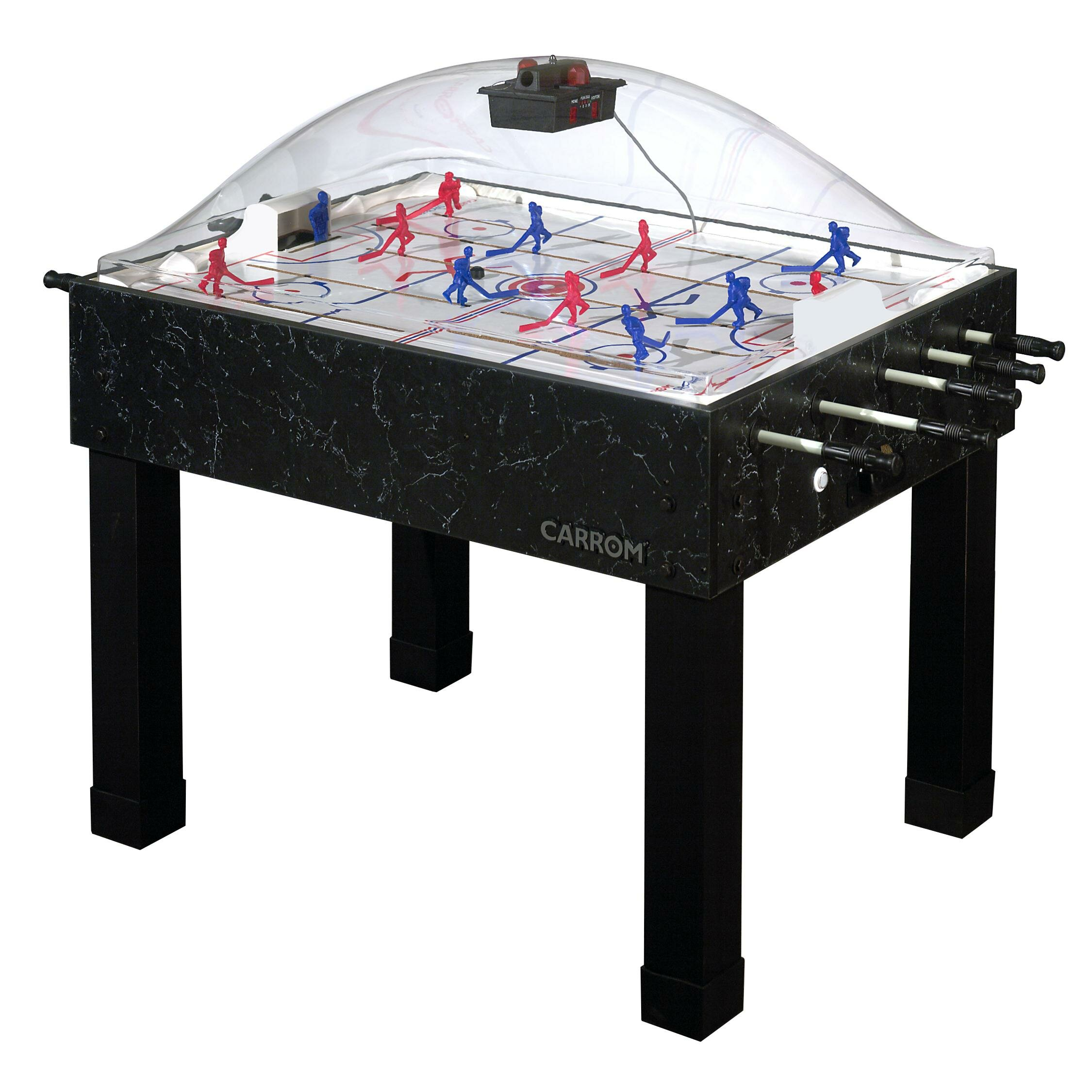 Carrom super stick dome 58 hockey table reviews for Table hockey