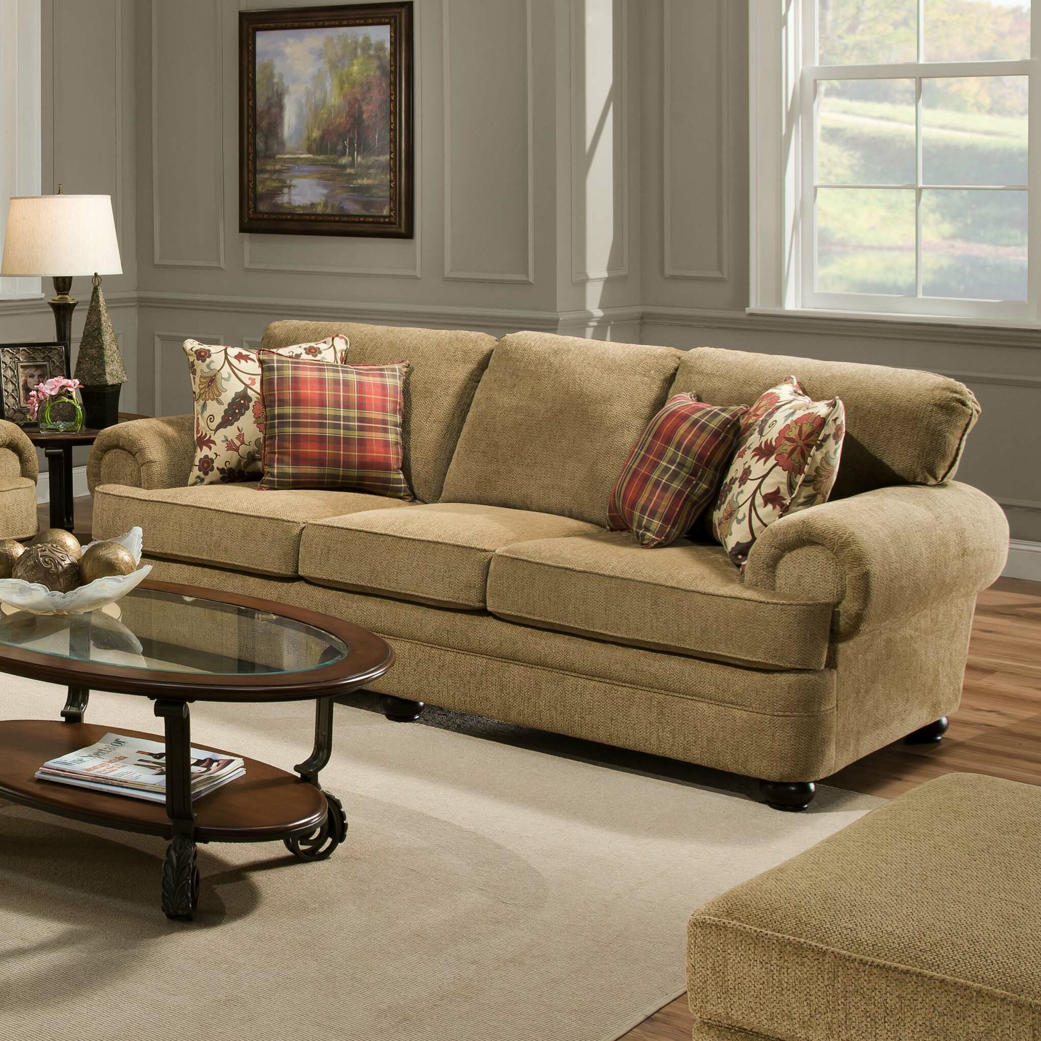 Simmons Upholstery Thunder Living Room Collection Reviews Wayfair